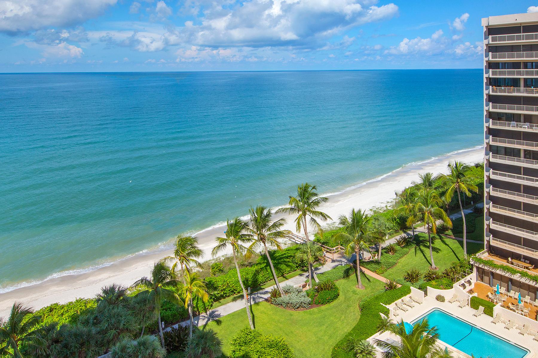 共管物業 為 出售 在 PARK SHORE - SURFSEDGE 4001 Gulf Shore Blvd N 1202 Naples, 佛羅里達州, 34103 美國