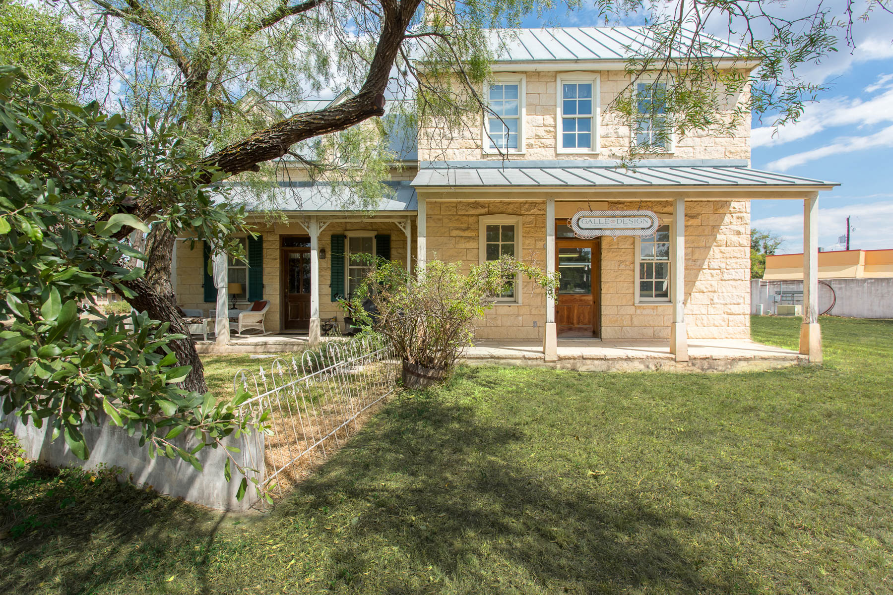 Single Family Home for Sale at Texas Hill Country Style Homes in Fredericksburg 605 E Austin St Fredericksburg, Texas 78624 United States