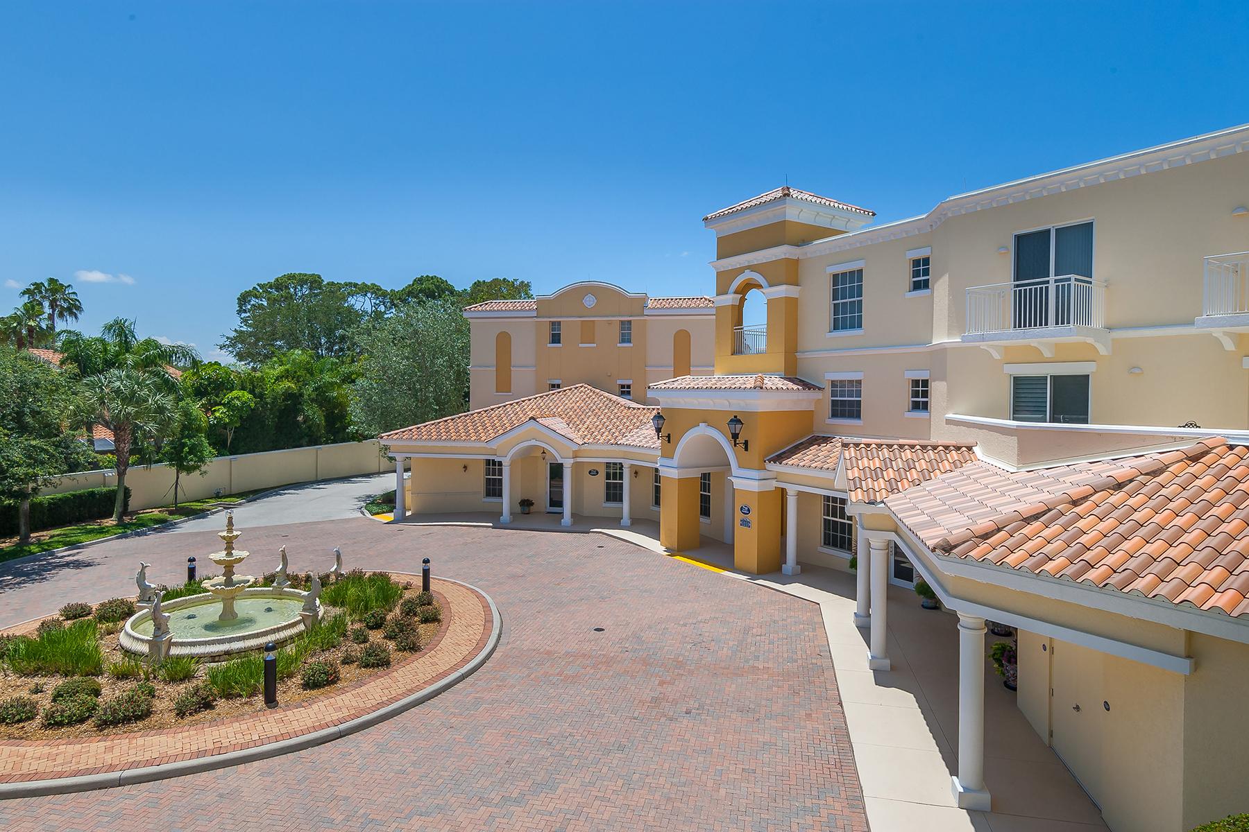 共管物業 為 出售 在 OSPREY 14021 Bellagio Way 308 Osprey, 佛羅里達州, 34229 美國
