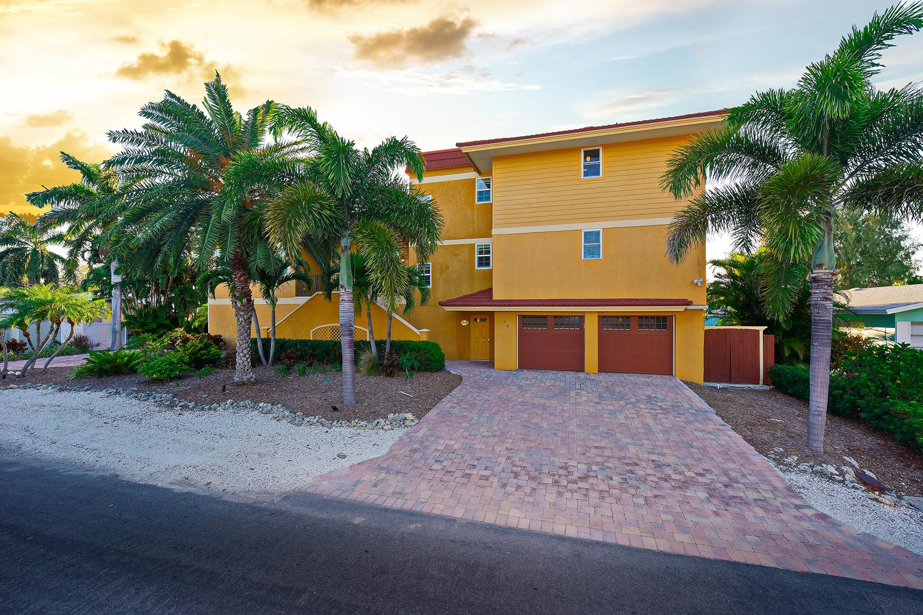 Maison unifamiliale pour l Vente à ANNA MARIA ISLAND CANAL FRONT 520 Bayview Pl Anna Maria, Florida 34216 États-Unis