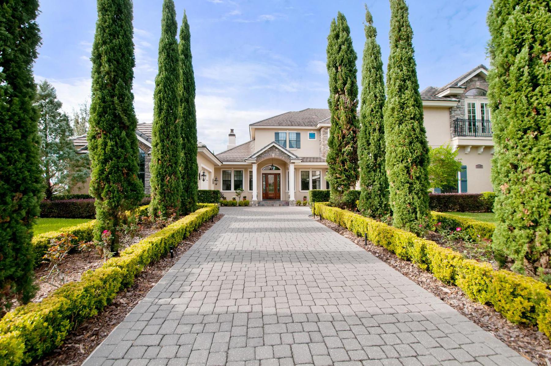 Casa Unifamiliar por un Venta en ORLANDO - WINDERMERE 6408 Lake Burden View Dr Windermere, Florida, 34786 Estados Unidos