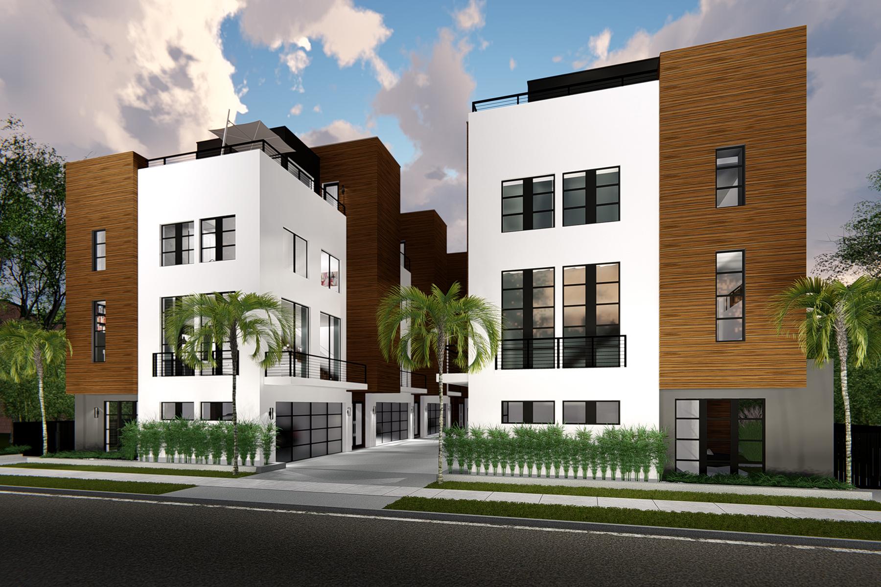 联栋屋 为 销售 在 DOWNTOWN ORLANDO 110 E Marks St 2 奥兰多, 佛罗里达州, 32803 美国