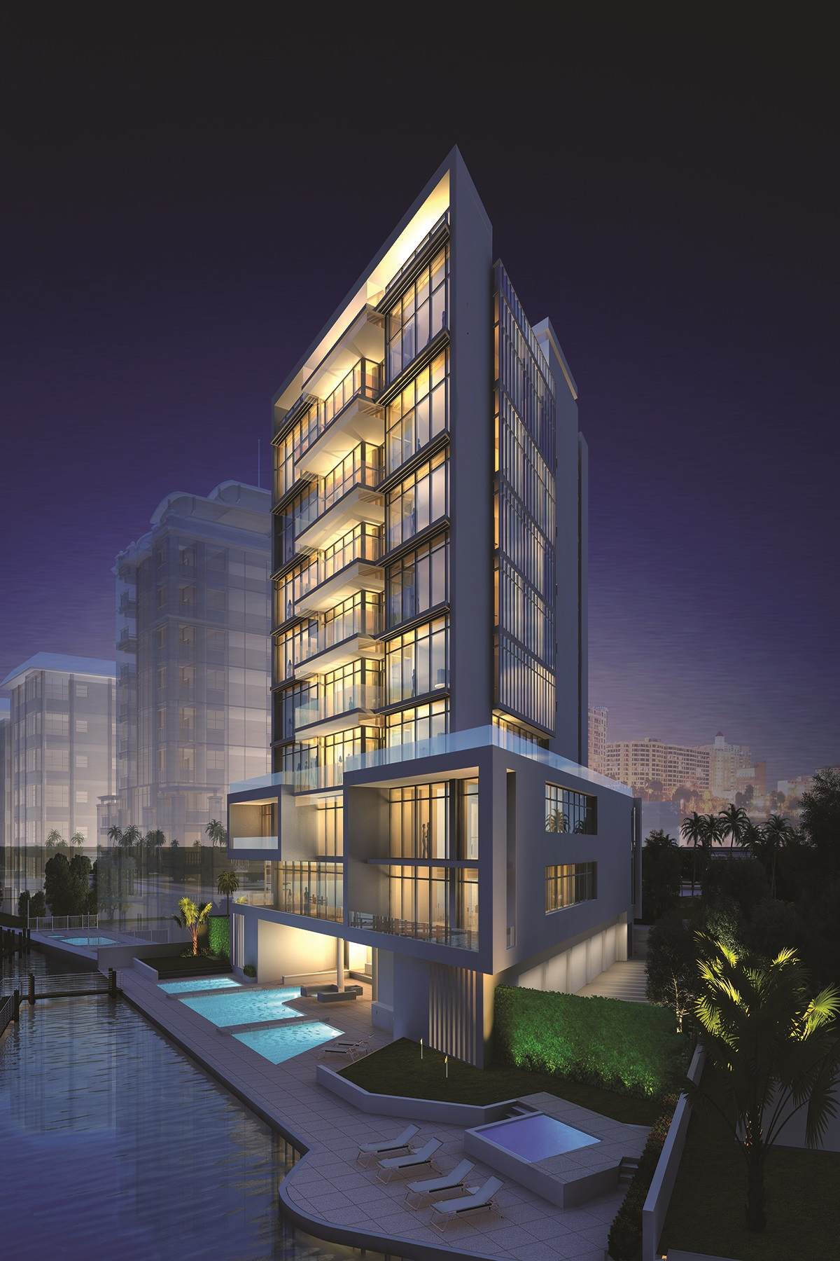 sales property at AQUA