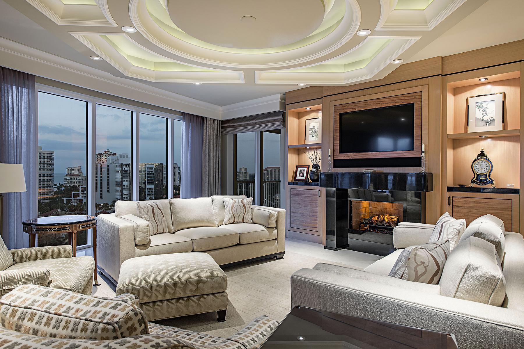 Condominium for Sale at PARK SHORE - ARIA 4501 Gulf Shore Blvd N Unit 1403 Naples, Florida, 34103 United States