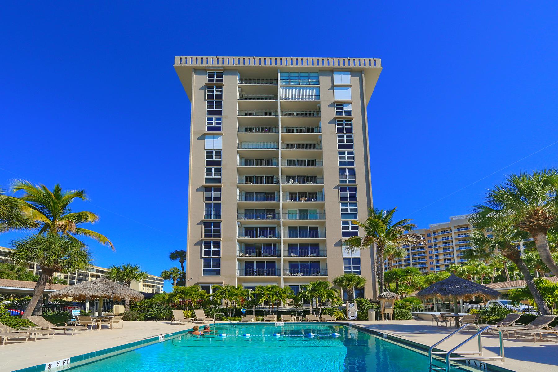 콘도미니엄 용 매매 에 SARASOTA 1212 Benjamin Franklin Dr 703 Sarasota, 플로리다, 34236 미국