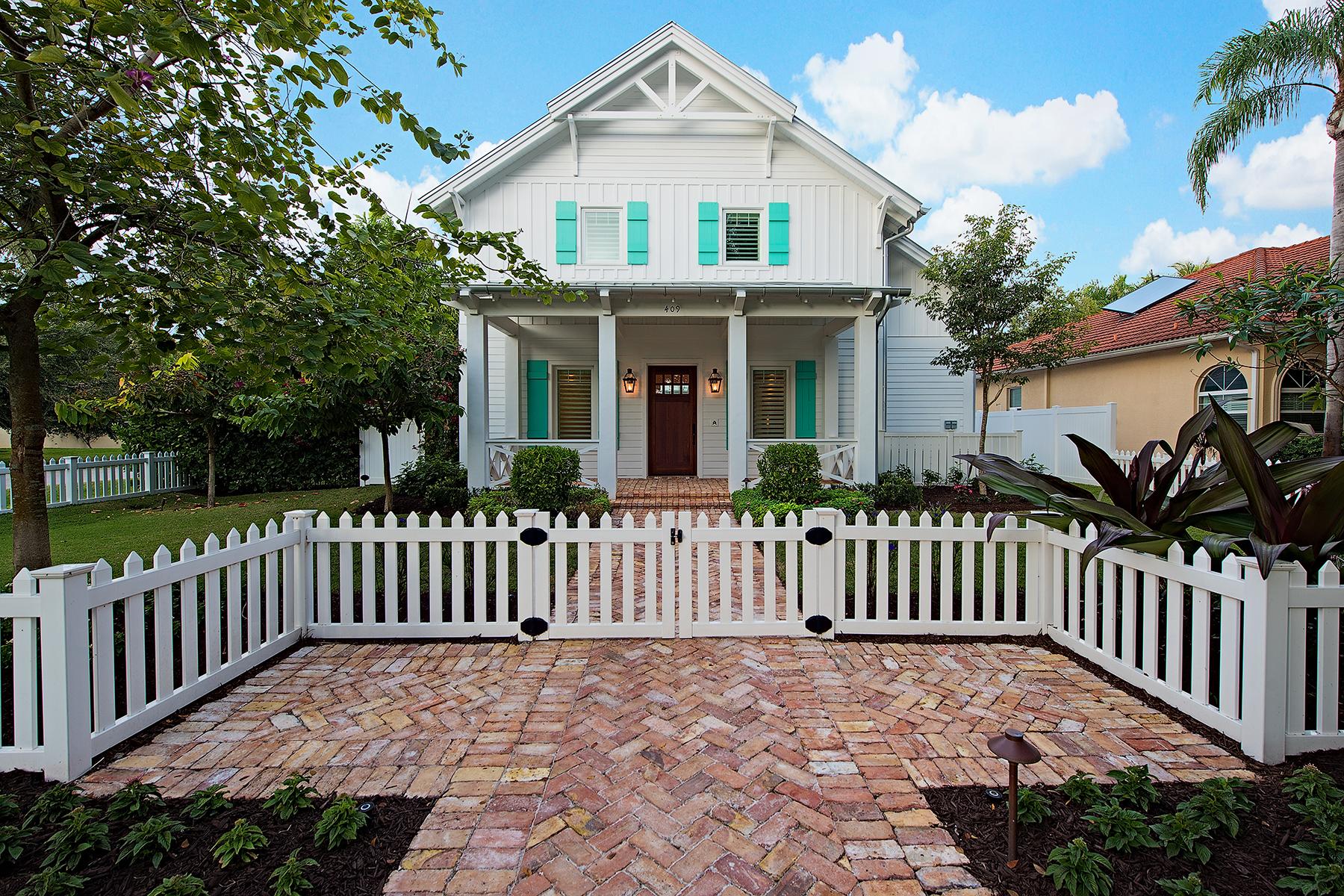 独户住宅 为 销售 在 OLD NAPLES 409 1st Ave N 那不勒斯, 佛罗里达州, 34102 美国