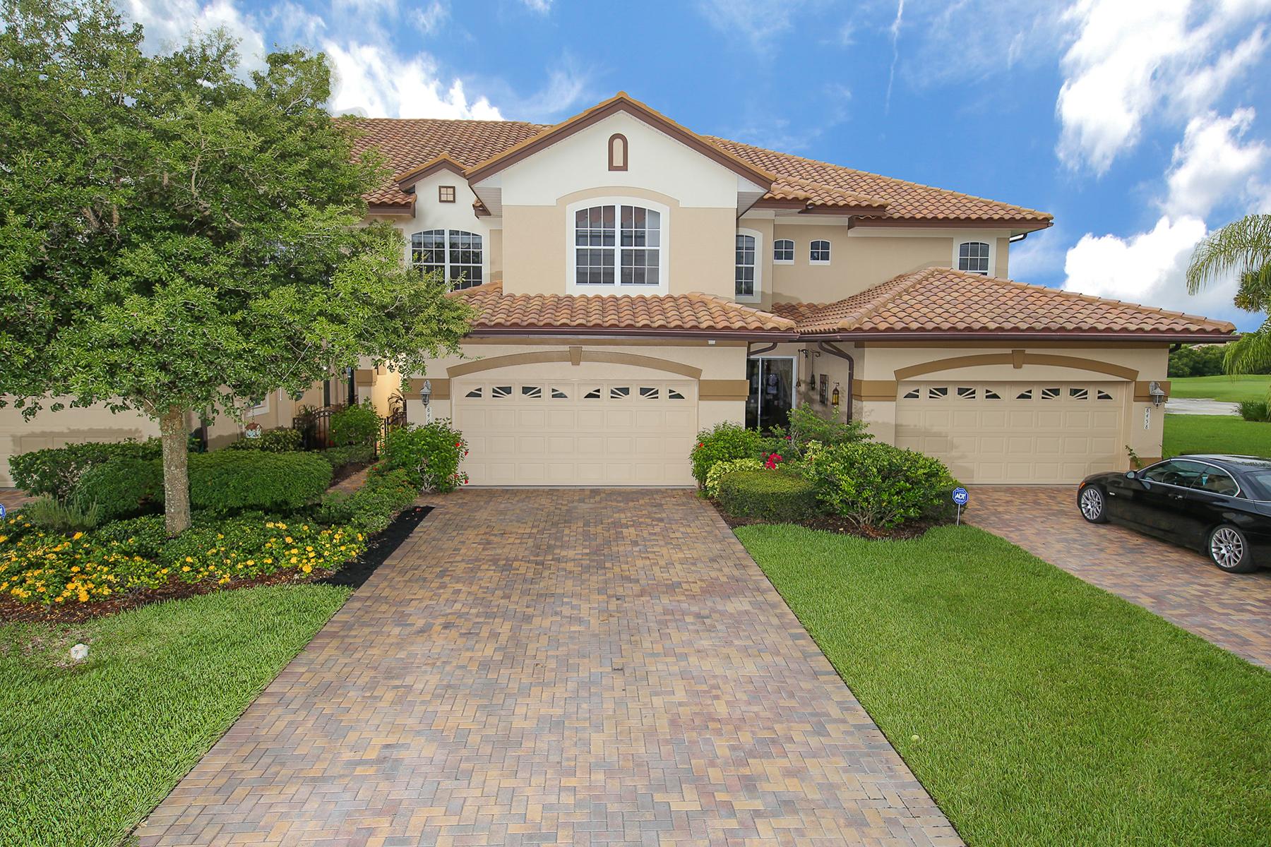 Townhouse for Sale at MIRAMAR 8460 Miramar Way Lakewood Ranch, Florida 34202 United States