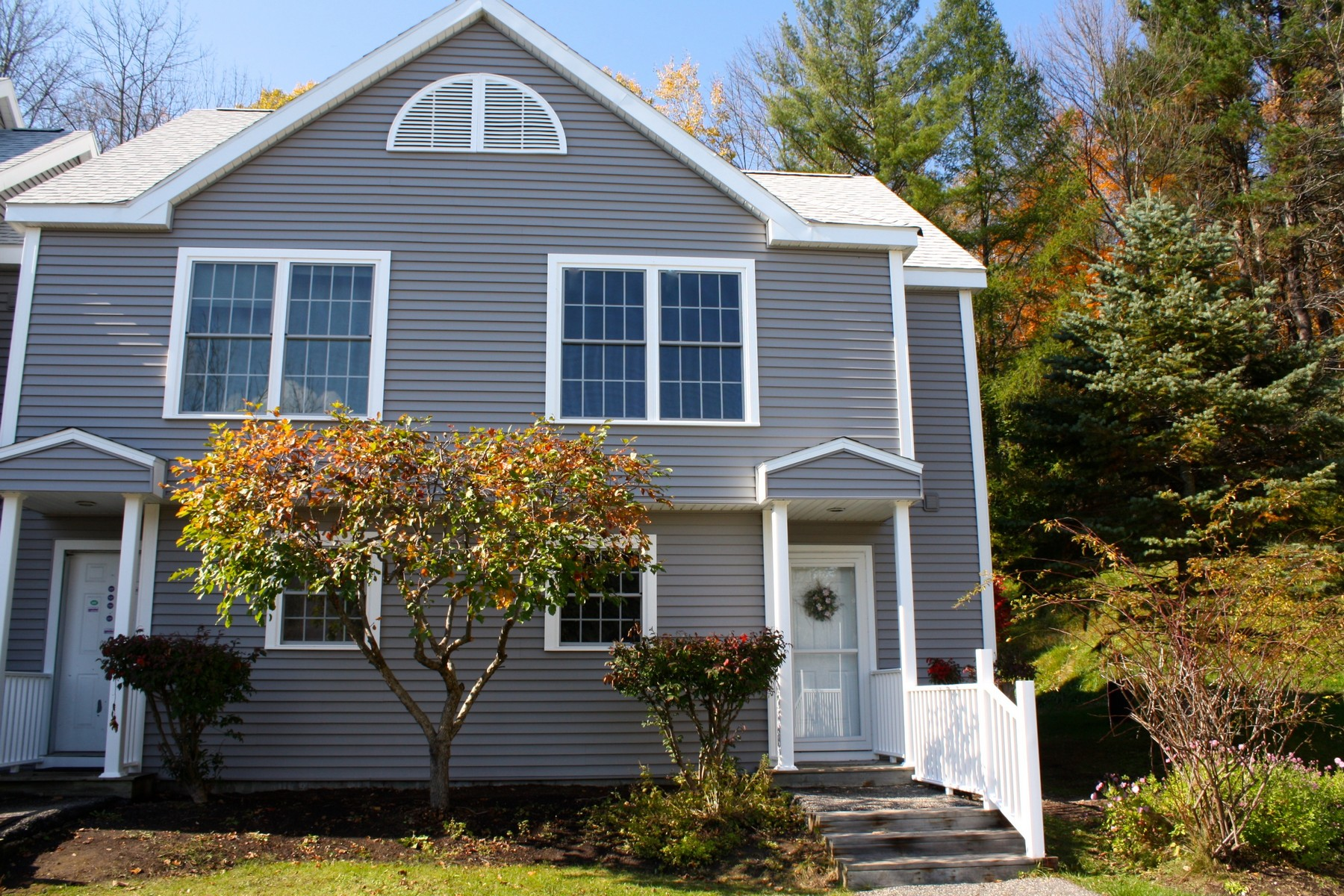 Condominium for Sale at End Unit Condo with Great Location 15807 Riverside Townhouses Rd 7 Manchester, Vermont 05255 United States