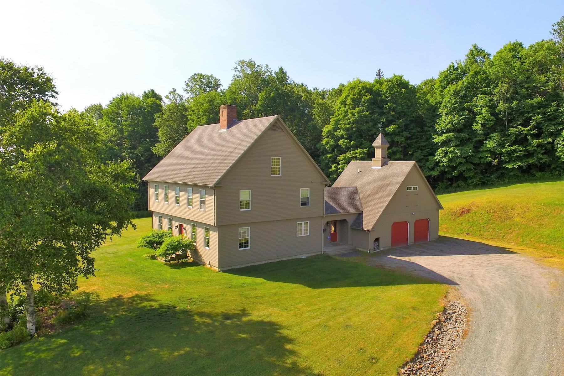 단독 가정 주택 용 매매 에 Vermont Equestrian Lifestyle 263 Bedor Ln St. Johnsbury, 베르몬트, 05819 미국
