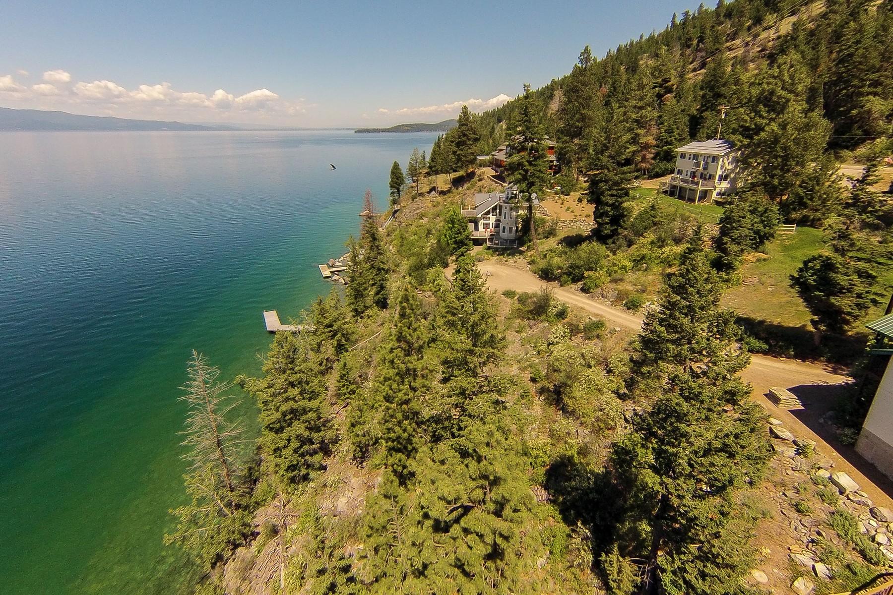 Частный односемейный дом для того Продажа на The Lighthouse 17349 Fishing Rock Ln Bigfork, Монтана, 59911 Соединенные Штаты