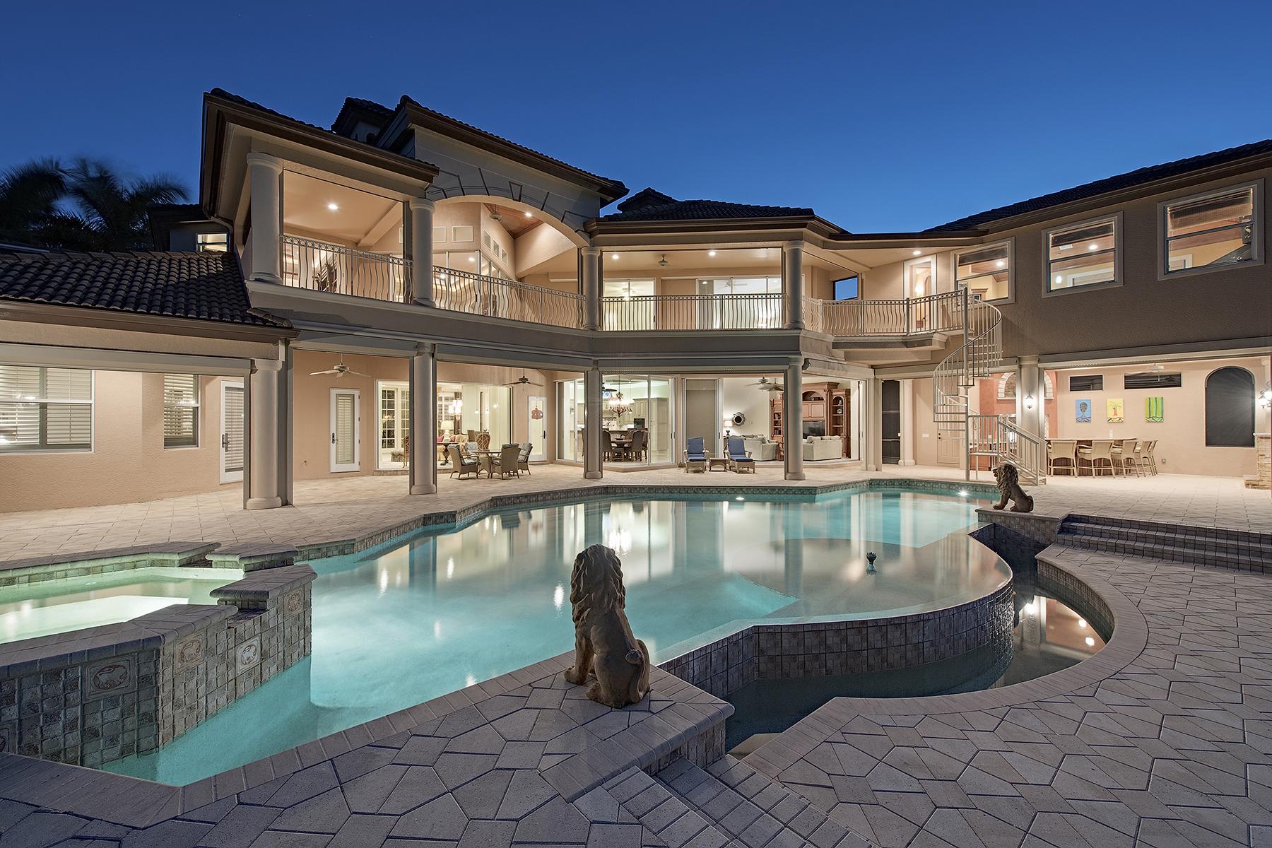 Single Family Home for Sale at PELICAN MARSH - BAY LAUREL ESTATES 8647 Blue Flag Way Naples, Florida, 34109 United States