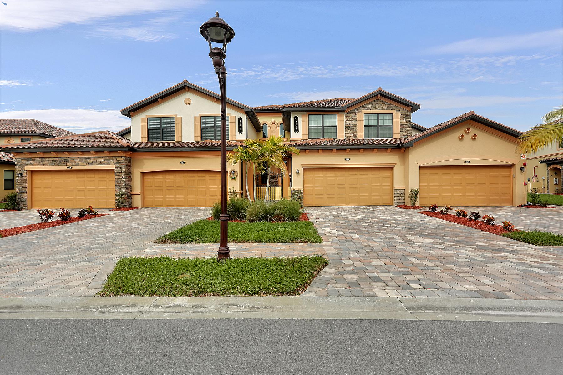 Condomínio para Venda às TREVISO BAY - DI NAPOLI 9503 Napoli Ln 102 Naples, Florida 34113 Estados Unidos