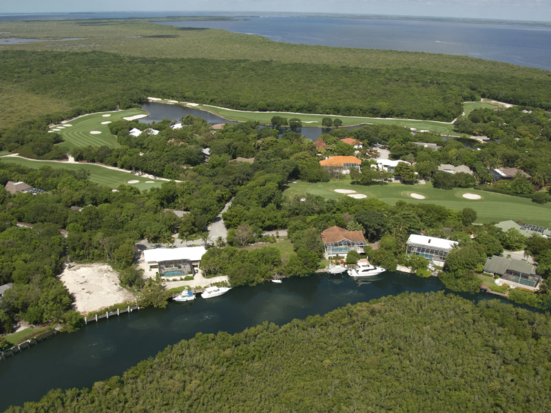 sales property at Canal Front Lot at Ocean Reef