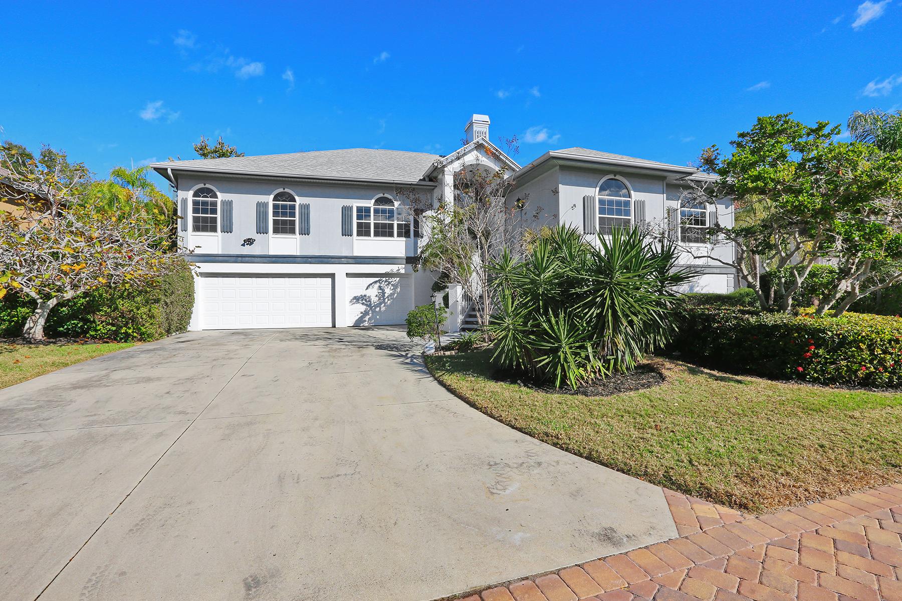 Частный односемейный дом для того Продажа на TORTOISE ESTATES 1217 Tree Bay Ln Sarasota, Флорида 34242 Соединенные Штаты