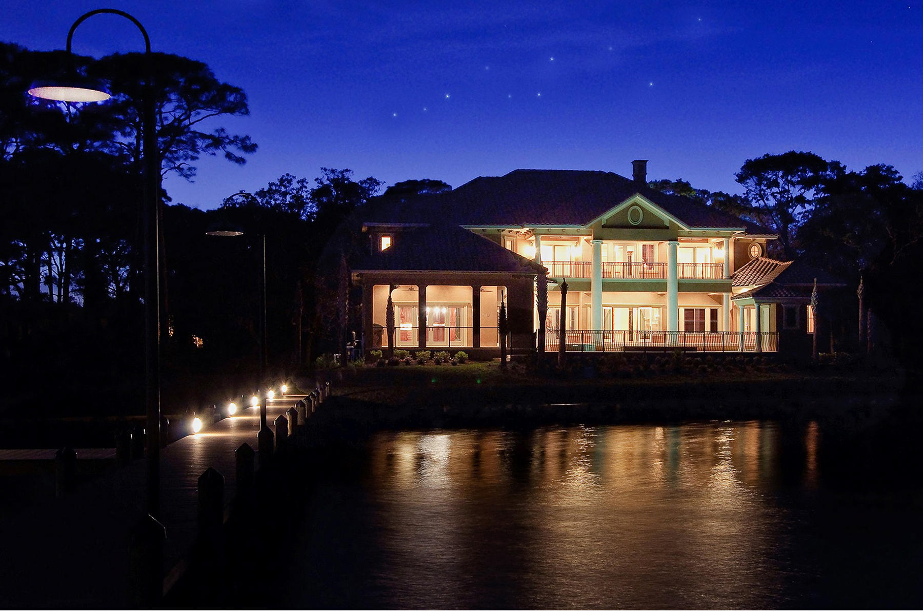 Single Family Home for Sale at THE PINNACLE OF LUXURY WATERFRONT LIVING 4145 Belcourt Dr Destin, Florida 32541 United States