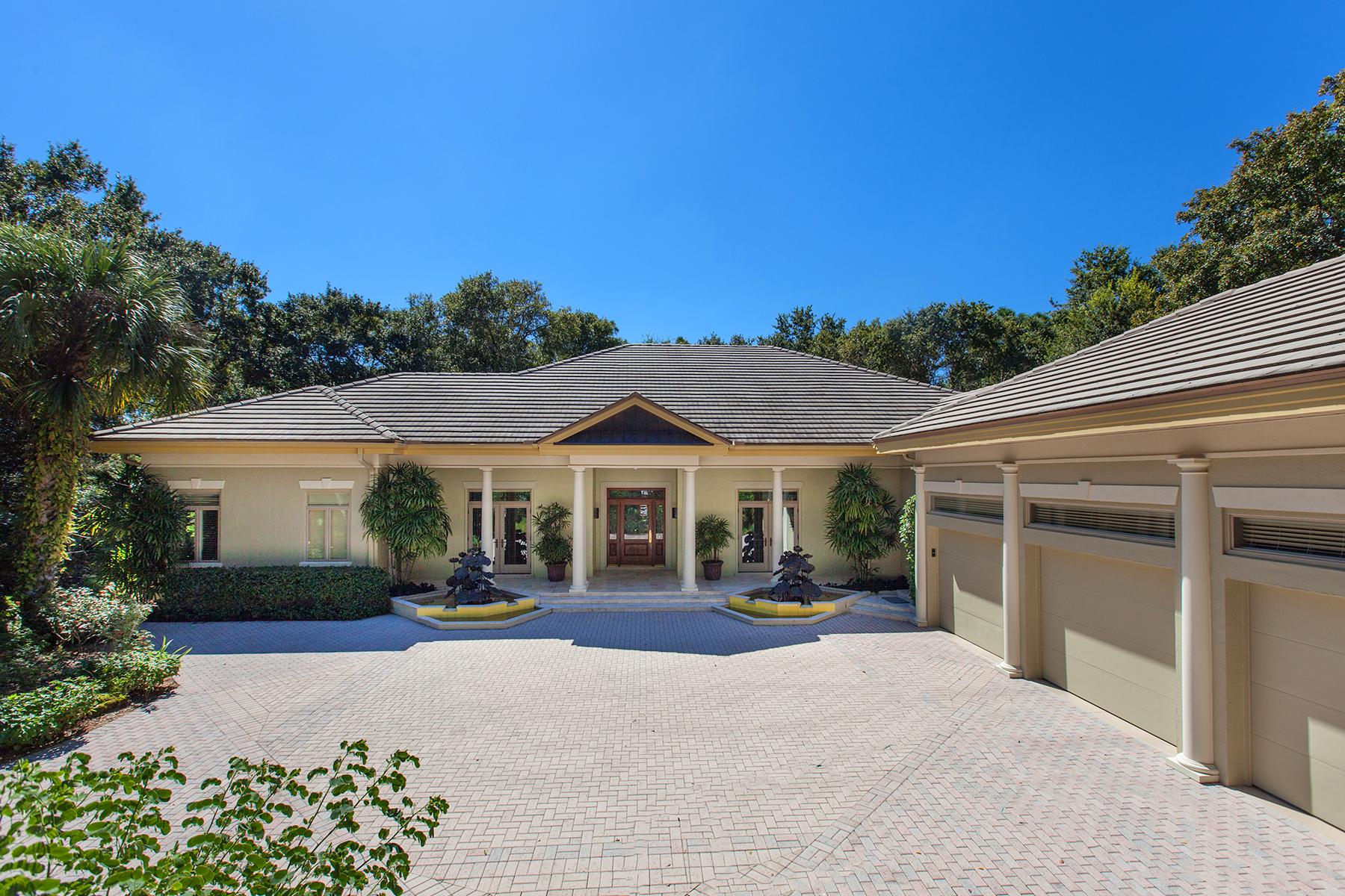 獨棟家庭住宅 為 出售 在 ORCHID TRACE 6590 Wild Orchid Ln Sarasota, 佛羅里達州 34241 美國