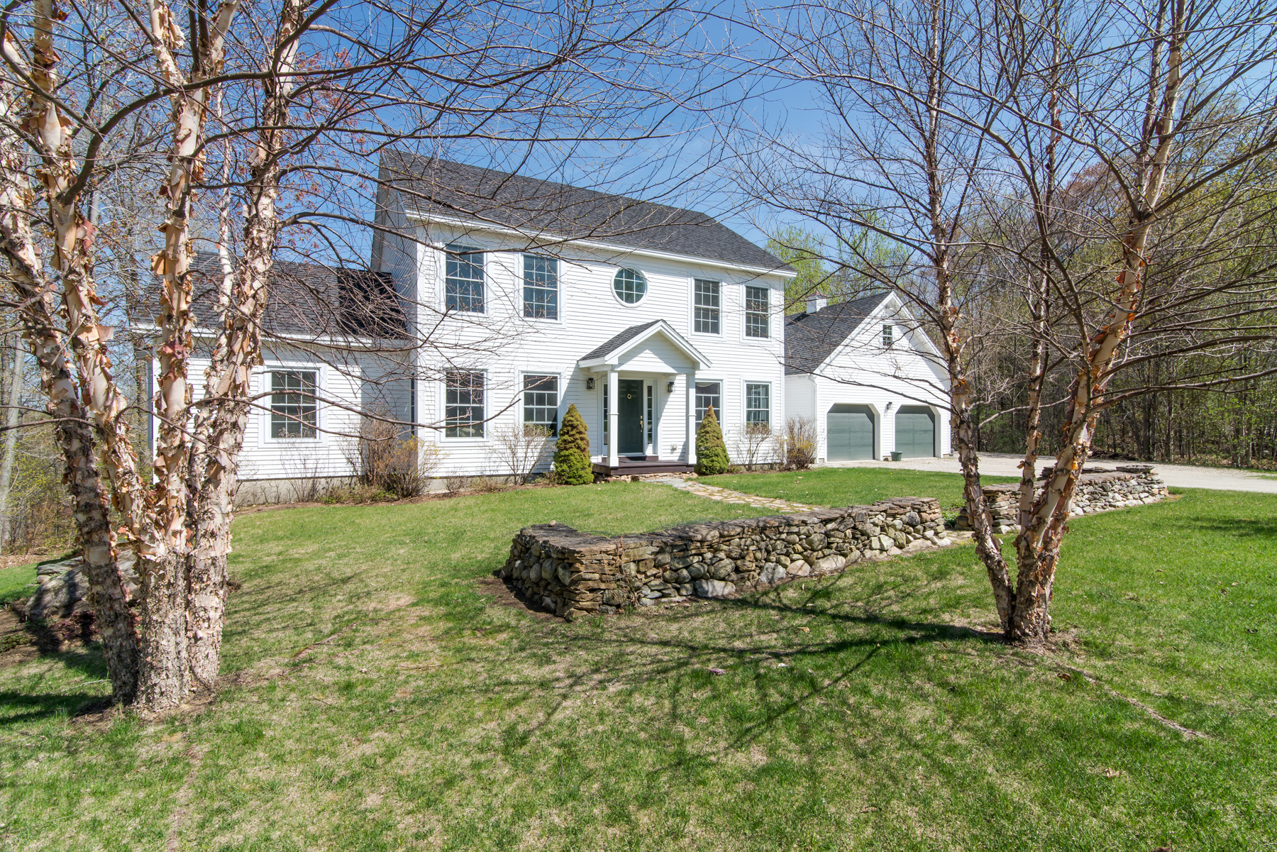 Single Family Home for Sale at Charming Center Hall Colonial 140 Mending Walls Manchester, Vermont, 05255 United States