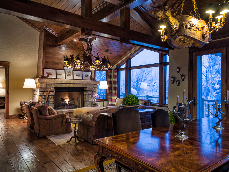 Property Of Luxury Custom Home on Forest Road in Vail