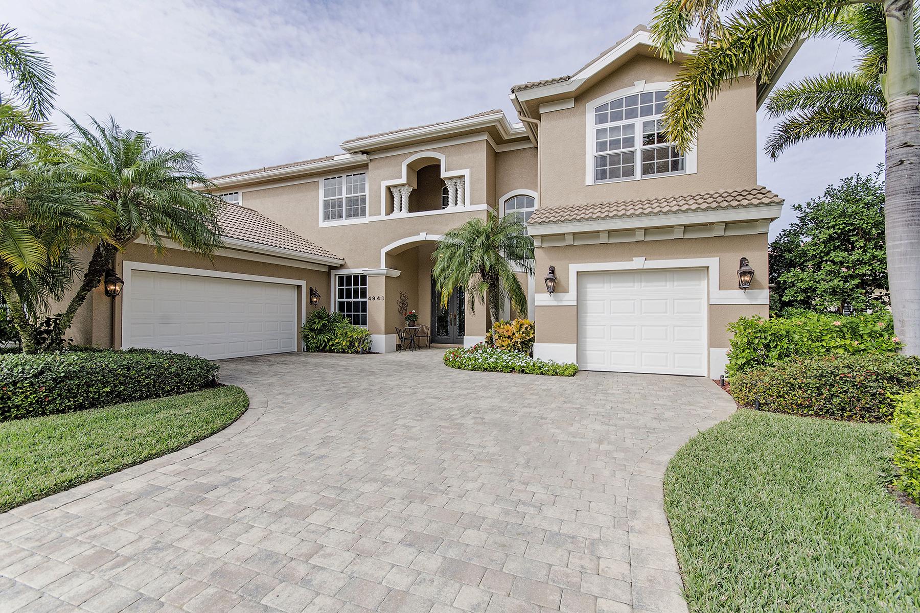 Maison unifamiliale pour l Vente à 4943 Rustic Oaks Cir , Naples, FL 34105 4943 Rustic Oaks Cir Naples, Florida 34105 États-Unis
