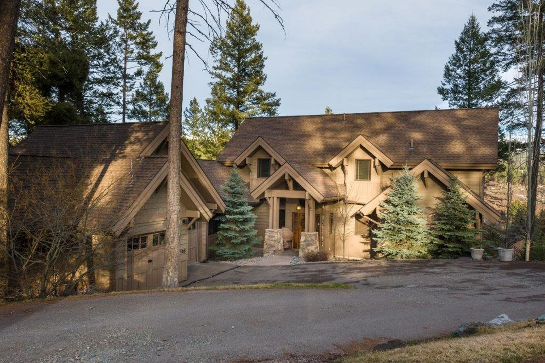 Частный односемейный дом для того Продажа на 105 Eagle Bend Drive 105 Eagle Bend Dr Bigfork, Монтана, 59911 Соединенные Штаты