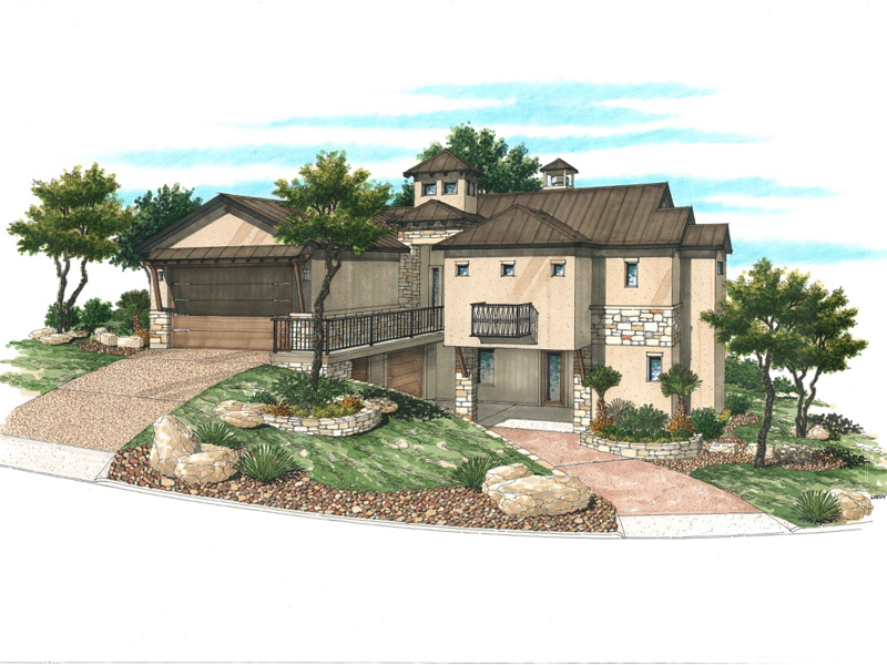 Property For Sale at Amazing New Home Being Built in Tapatio Springs