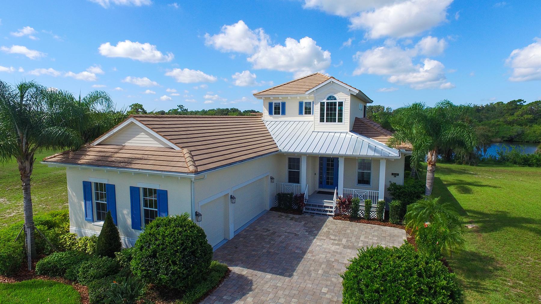 Casa Unifamiliar por un Venta en BRADENTON - MARSHALLS LANDING 5442 56th Ct E Bradenton, Florida, 34203 Estados Unidos