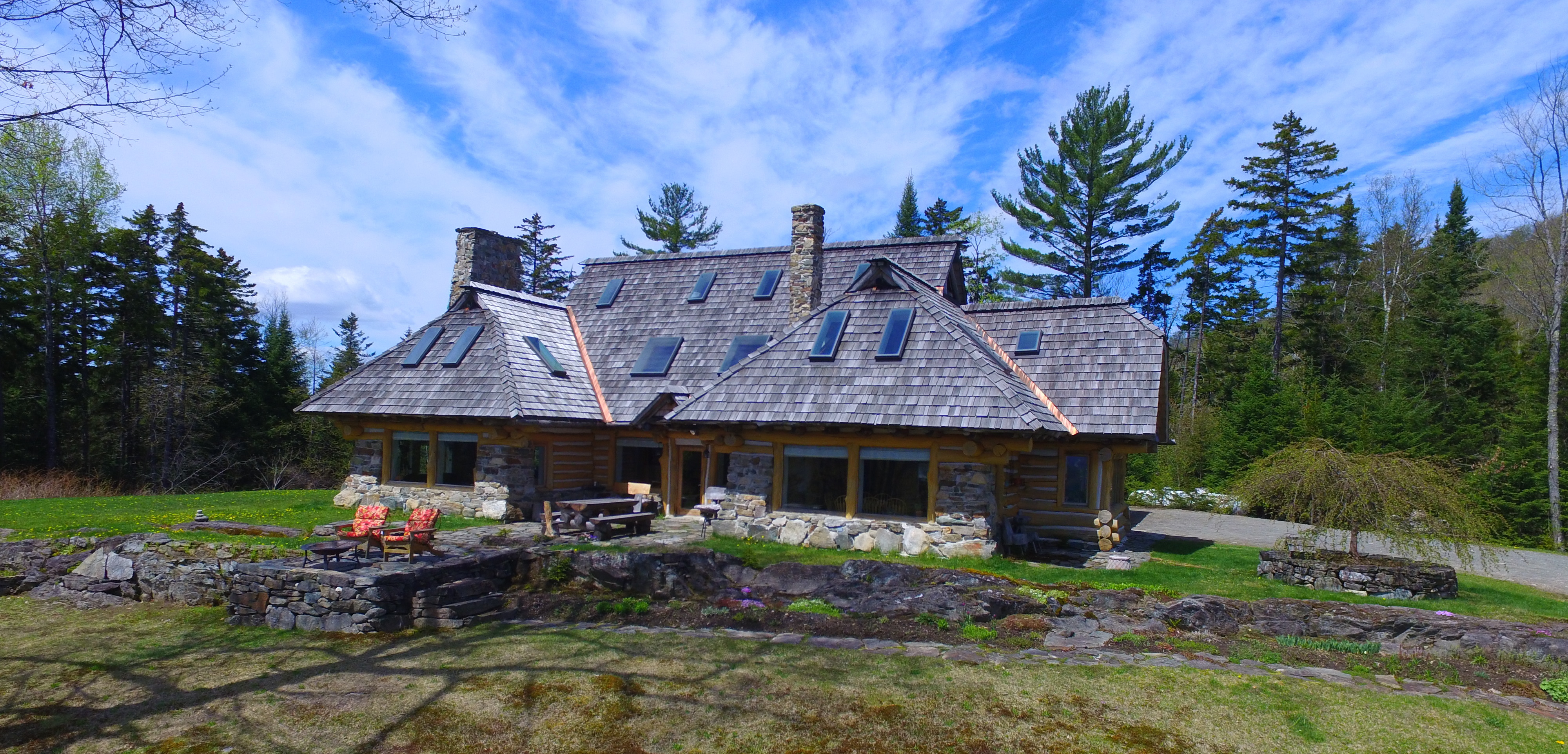 단독 가정 주택 용 매매 에 Spectacular Mountain Top Home 1285 Manns Hill Rd Littleton, 뉴햄프셔, 03561 미국