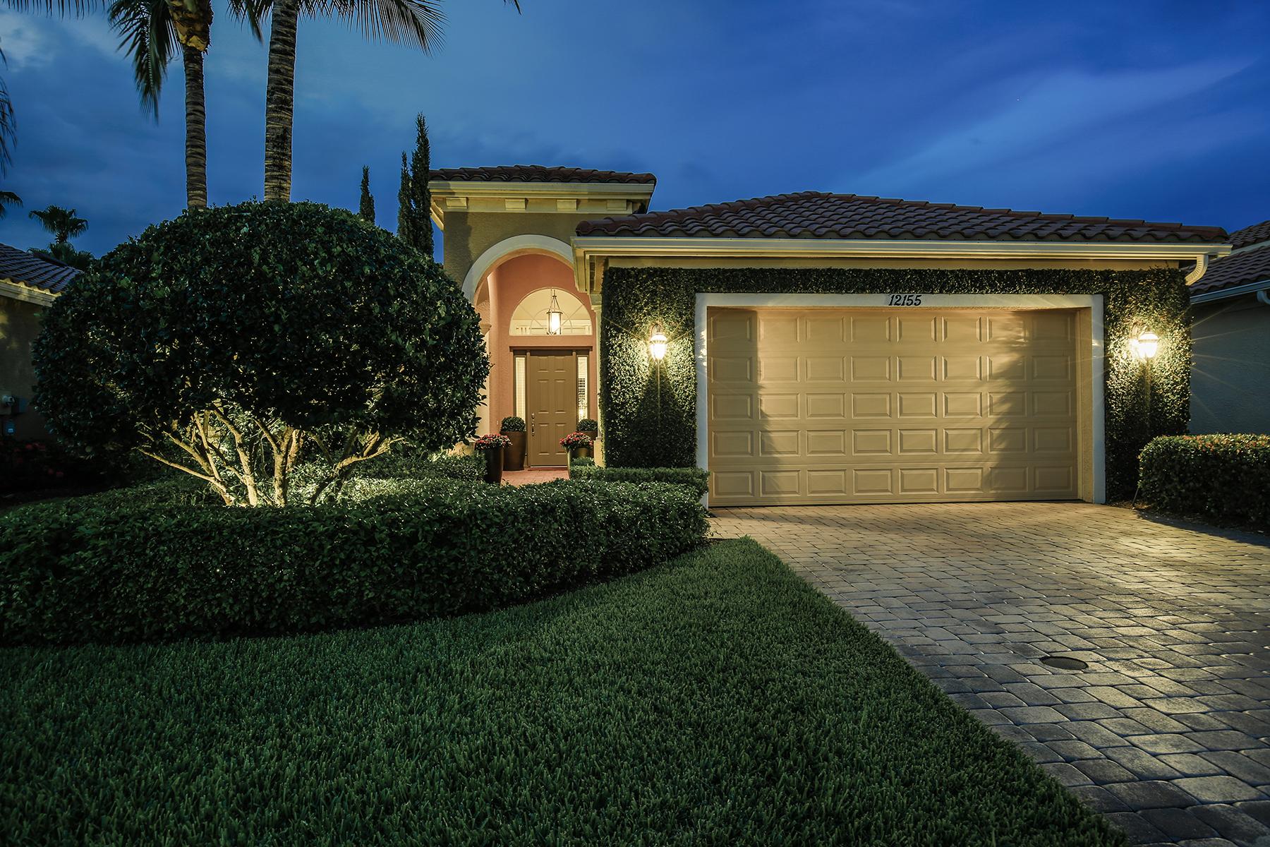 Casa Unifamiliar por un Venta en VASARI - CERCINA 12155 Via Cercina Dr Bonita Springs, Florida, 34135 Estados Unidos