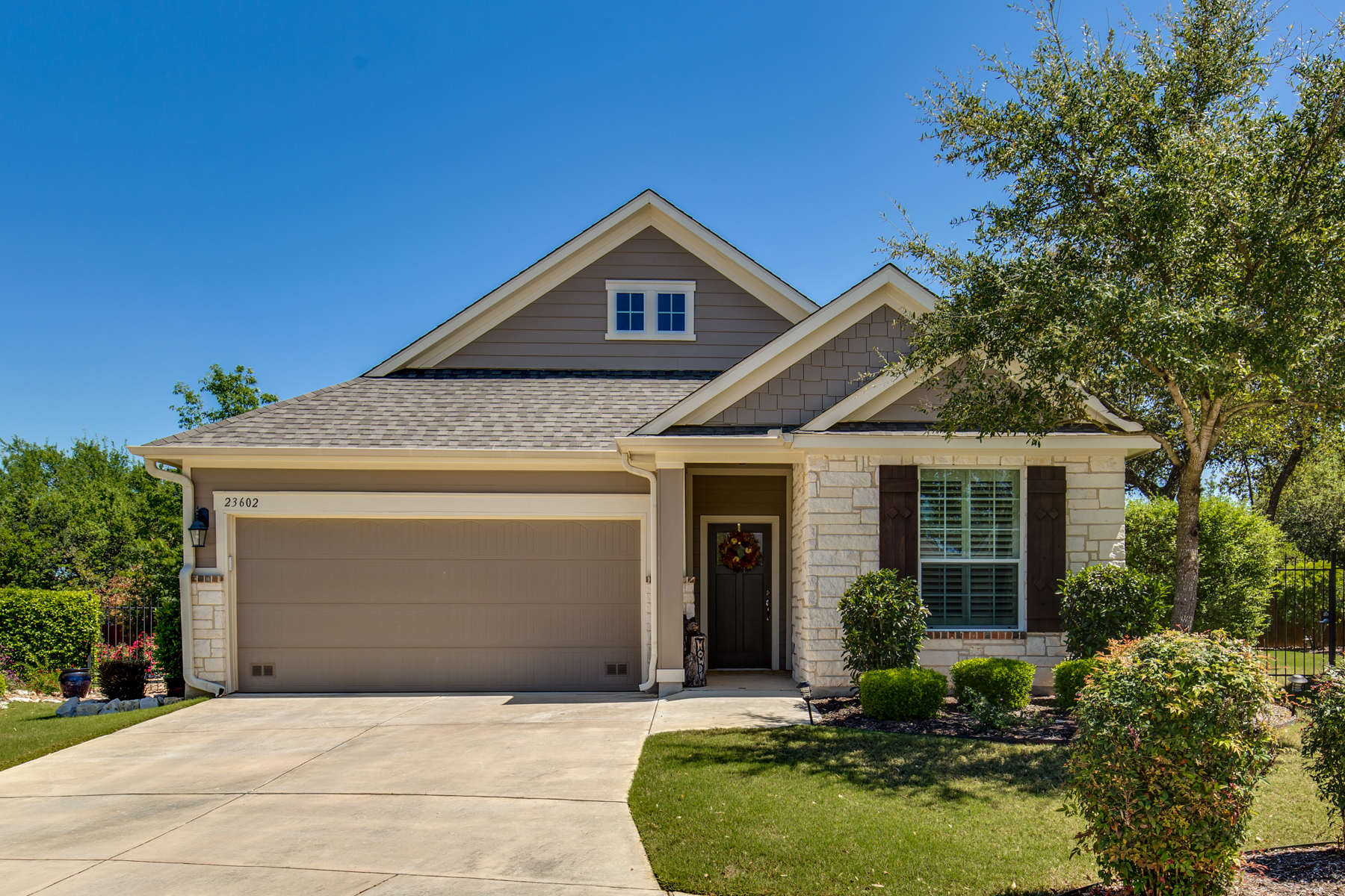 sales property at Immaculate Garden Home in Heights at Stone Oak