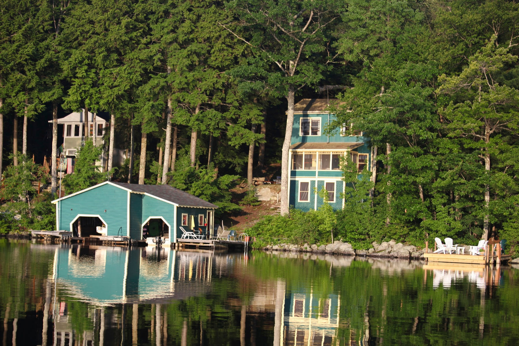 Einfamilienhaus für Verkauf beim Charming 3 Bedroom Bungalow 191 Bay Point Rd Newbury, New Hampshire 03255 Vereinigte Staaten