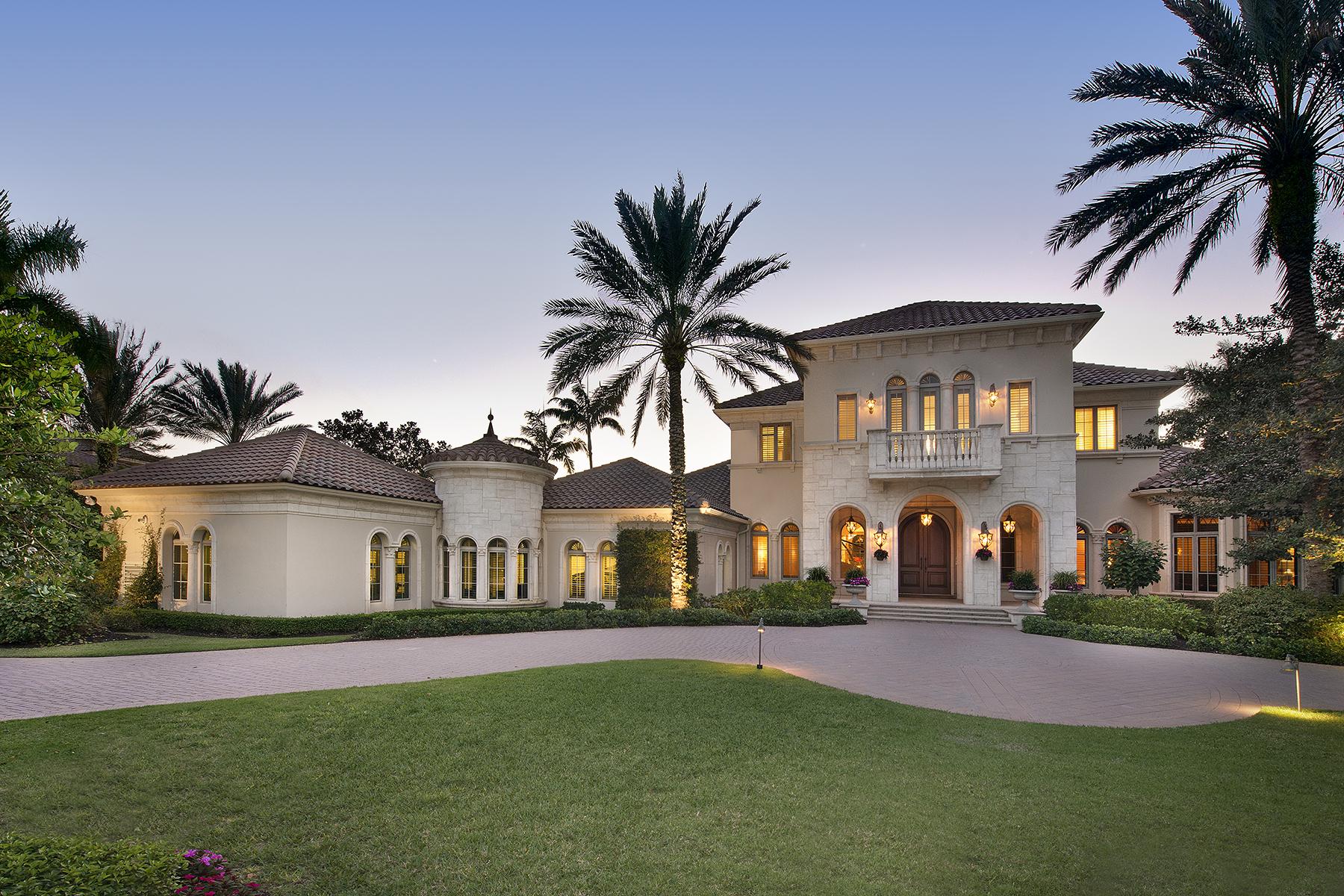 独户住宅 为 销售 在 Estuary at Grey Oaks 1397 Great Egret Trl Estuary At Grey Oaks, 那不勒斯, 佛罗里达州, 34105 美国