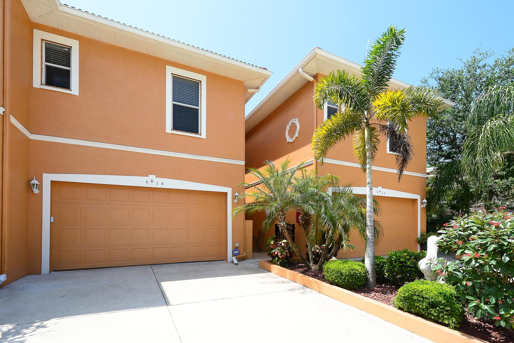 联栋屋 为 销售 在 SUNSET VILLAS OF VENICE 501 Barcelona Ave D 威尼斯, 佛罗里达州, 34285 美国