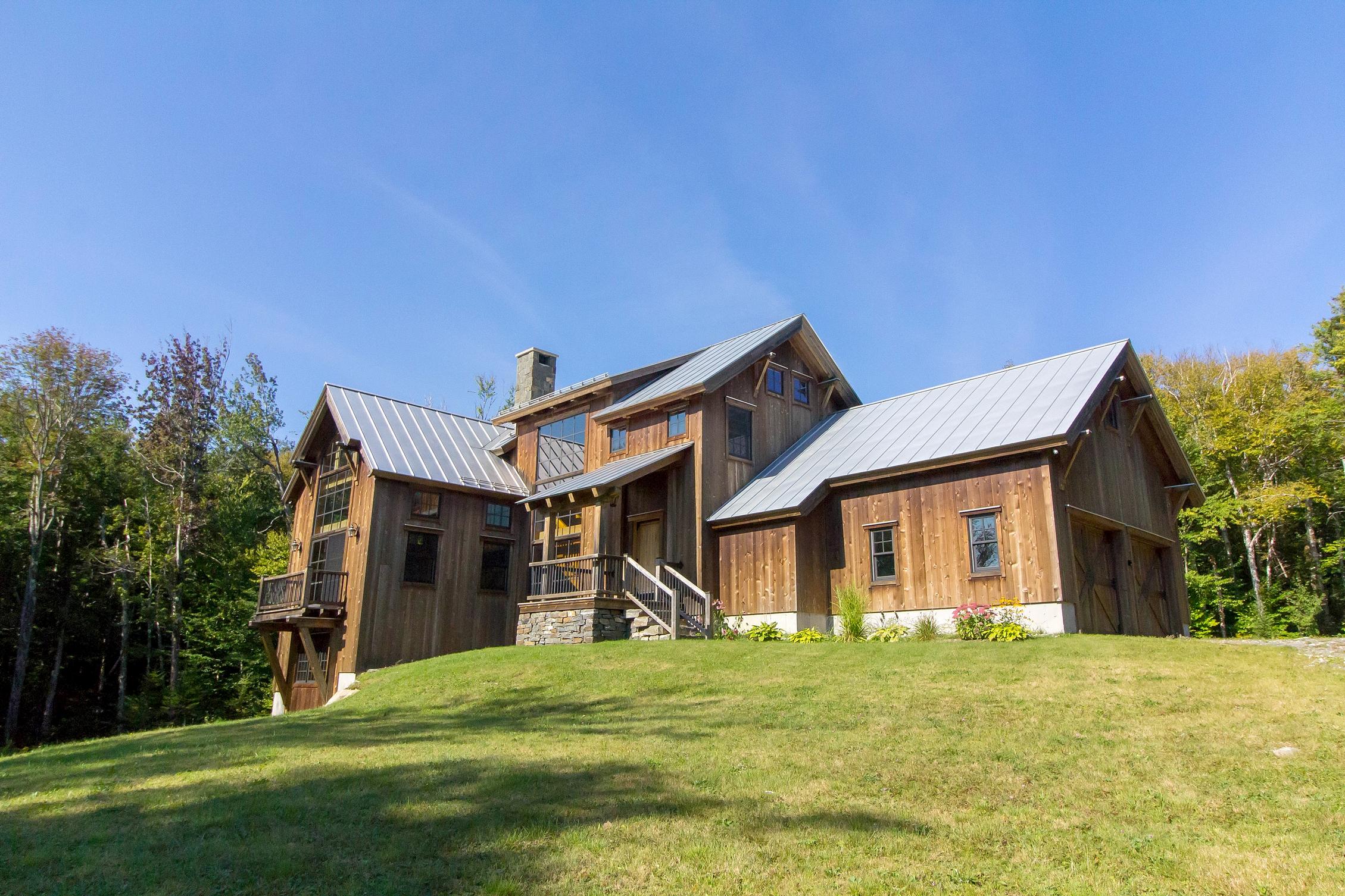 Maison unifamiliale pour l Vente à Custom Mountain Home 14 Talon Dr Stratton, Vermont, 05360 États-Unis