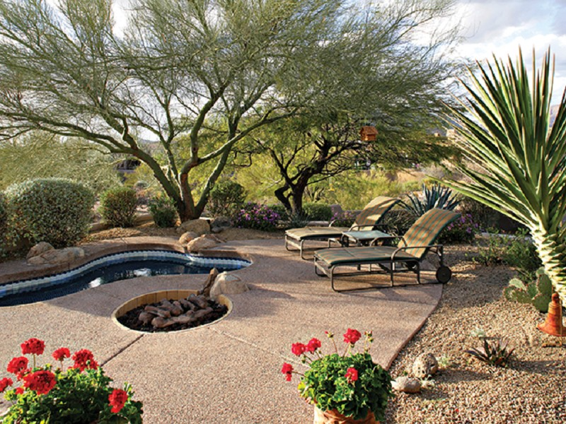 Property For Sale at Custom Home on 1 Acre Private Lot in Desert Mtn