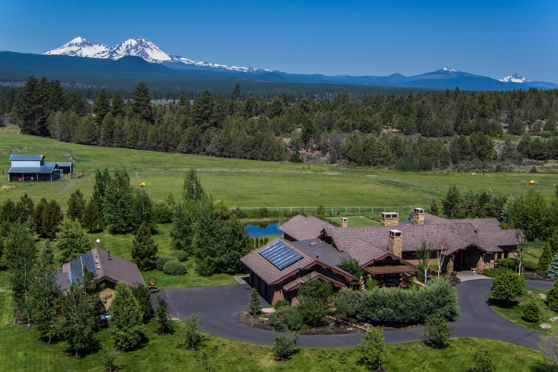 sales property at Stunning Tumalo Home on Acreage