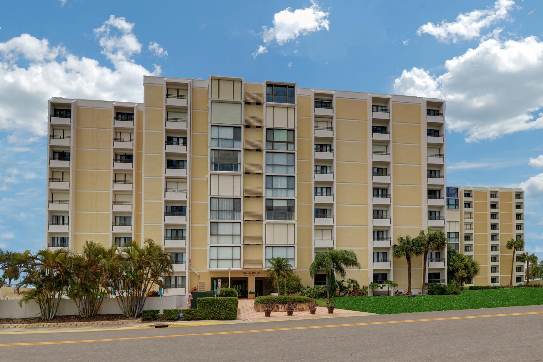Piso por un Venta en CLEARWATER BEACH 830 Gulfview Blvd 604 Clearwater Beach, Florida, 33767 Estados Unidos
