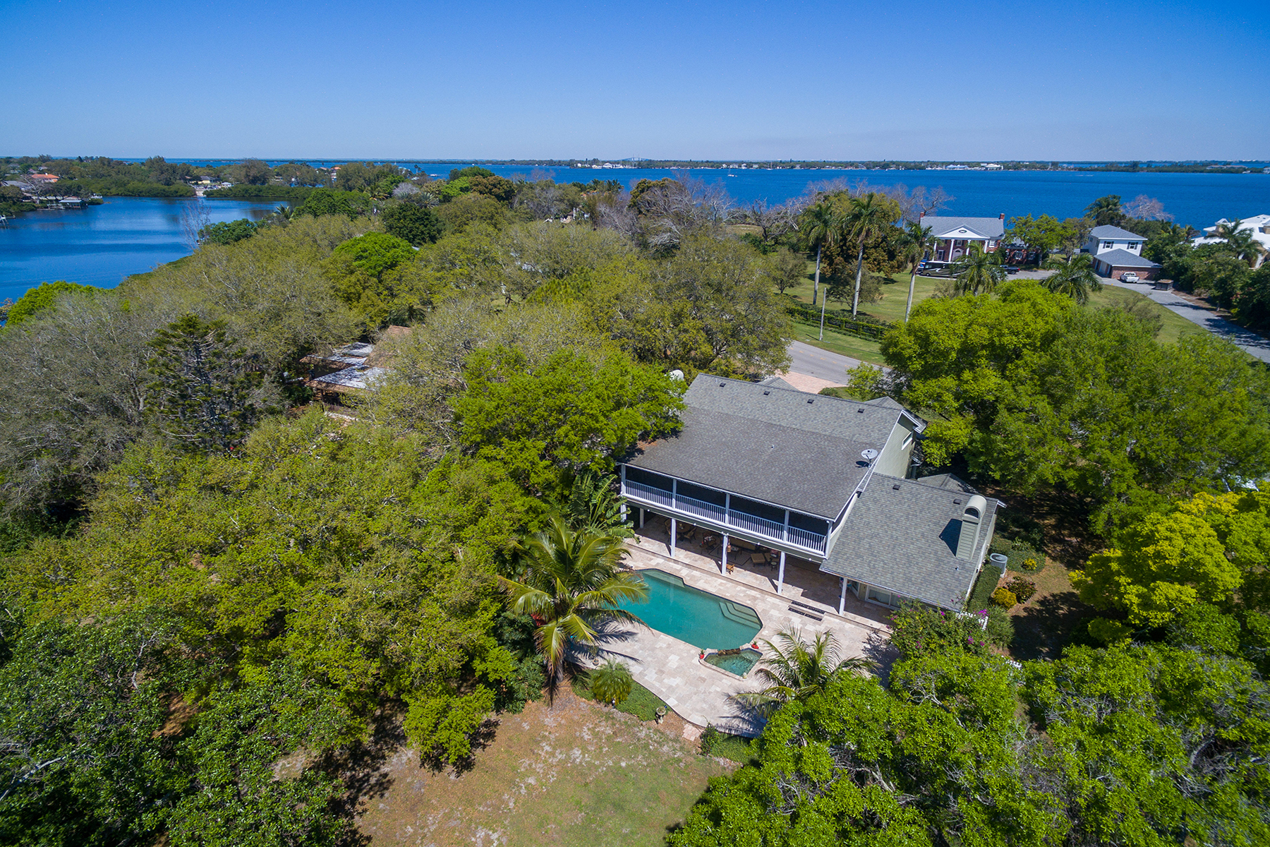 Single Family Home for Sale at RIVERVIEW HARBOR 5107 Riverview Blvd Bradenton, Florida, 34209 United States