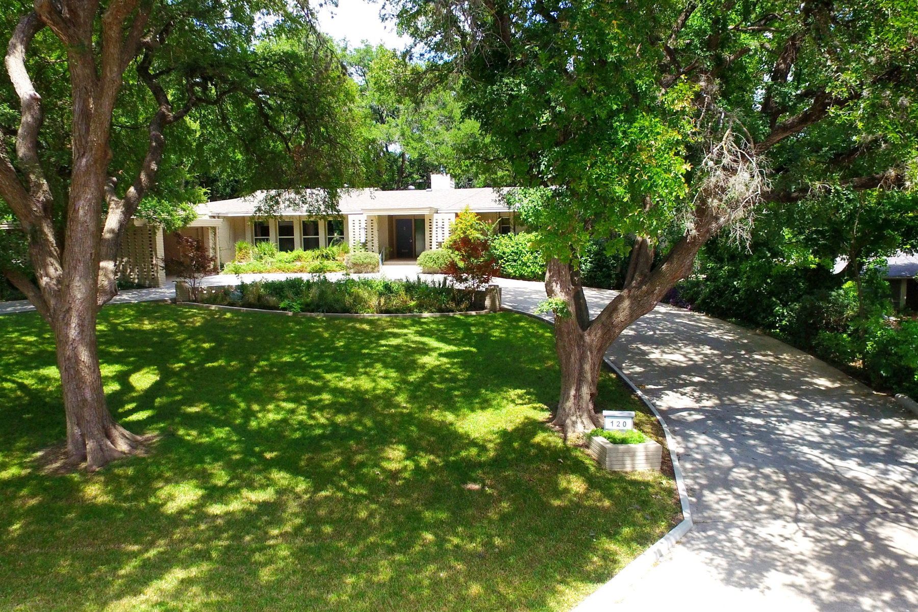 sales property at Luxurious Mid-Century Home in Olmos Park