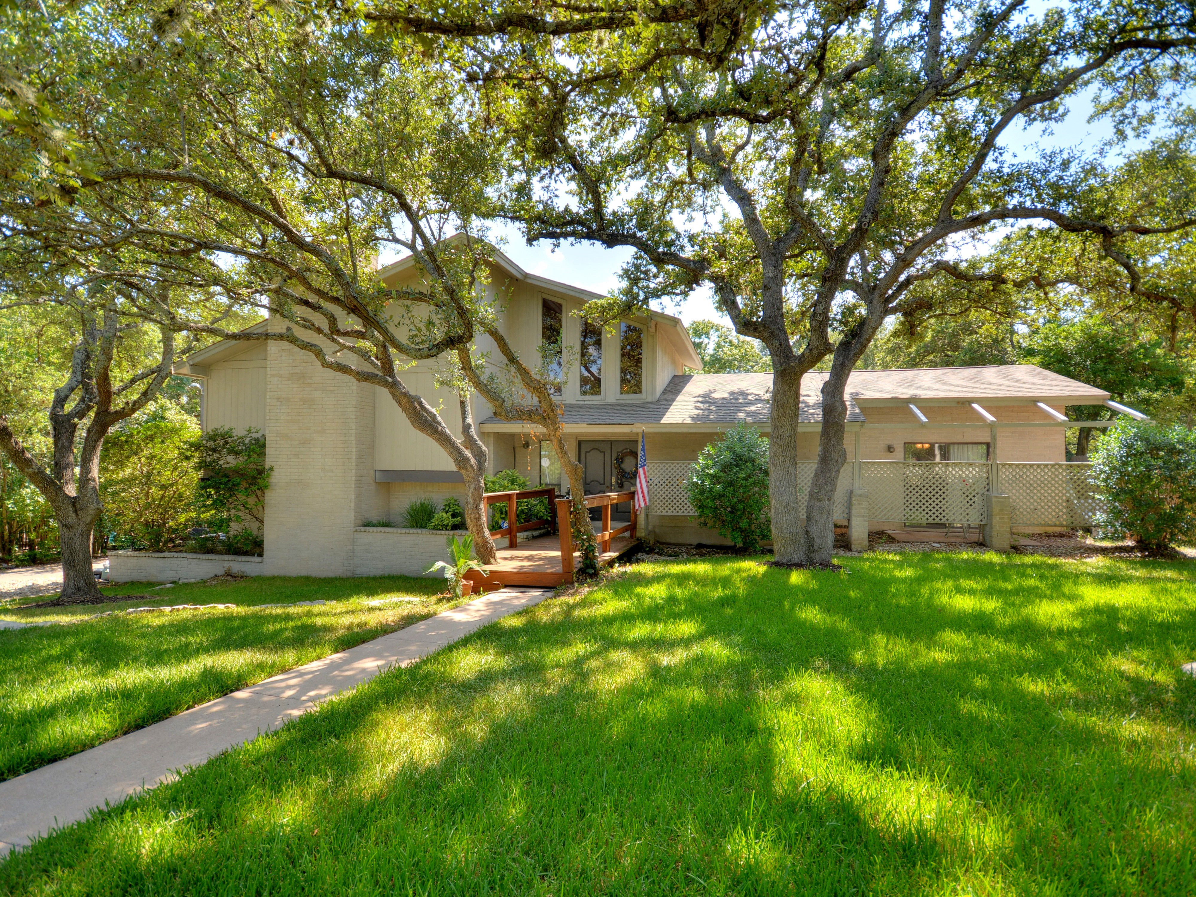 Single Family Home for Sale at One and a Half Story Home Overlooking Hill Country 11500 Spicewood Pkwy Austin, Texas 78750 United States