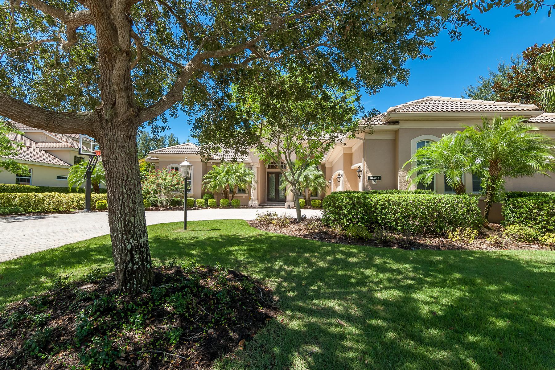 独户住宅 为 销售 在 LAKEWOOD RANCH COUNTRY CLUB 13404 Kildare Pl 莱克伍德牧场, 佛罗里达州, 34202 美国