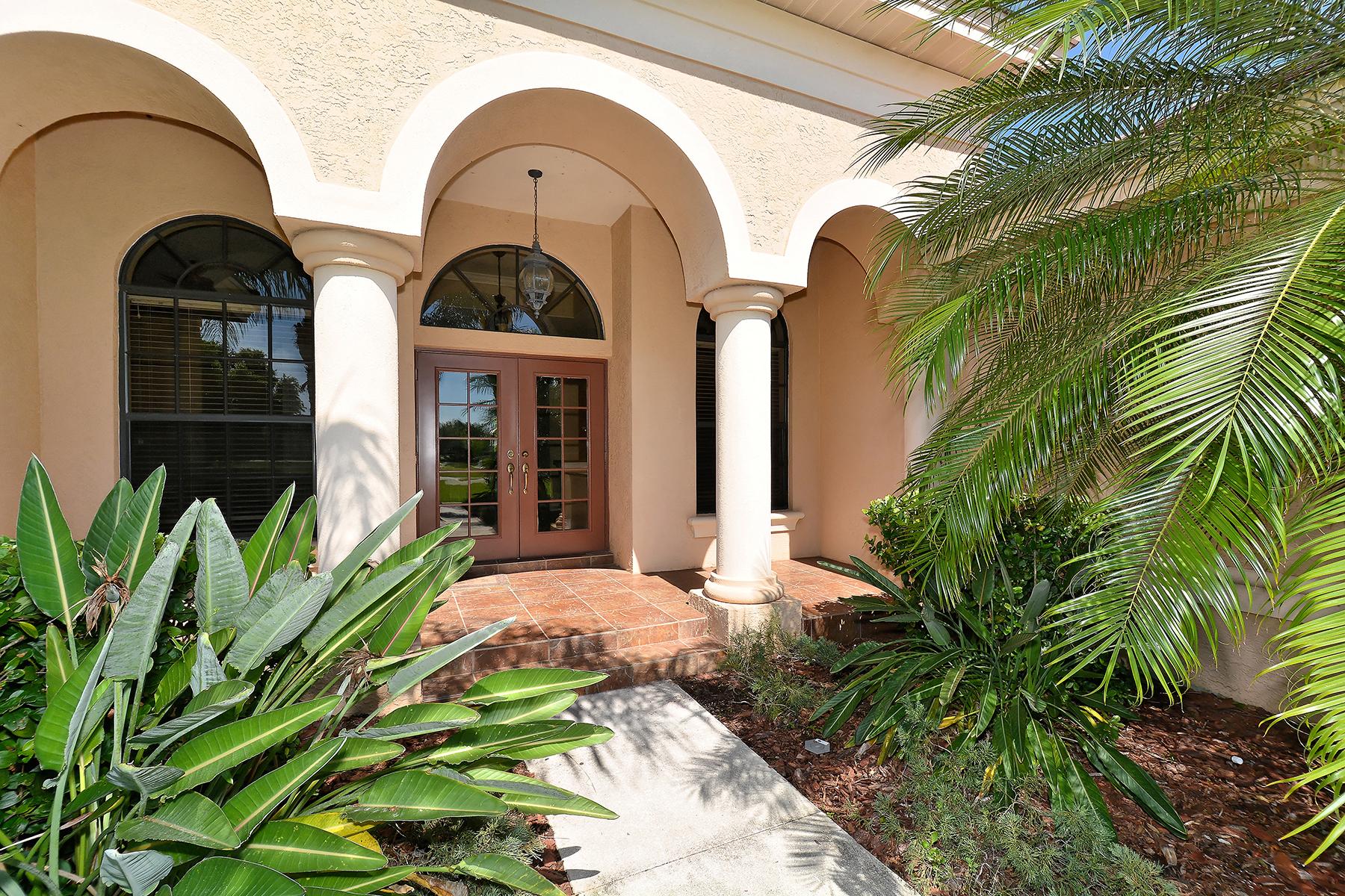 獨棟家庭住宅 為 出售 在 PANTHER RIDGE 22515 Morning Glory Cir Bradenton, 佛羅里達州, 34202 美國