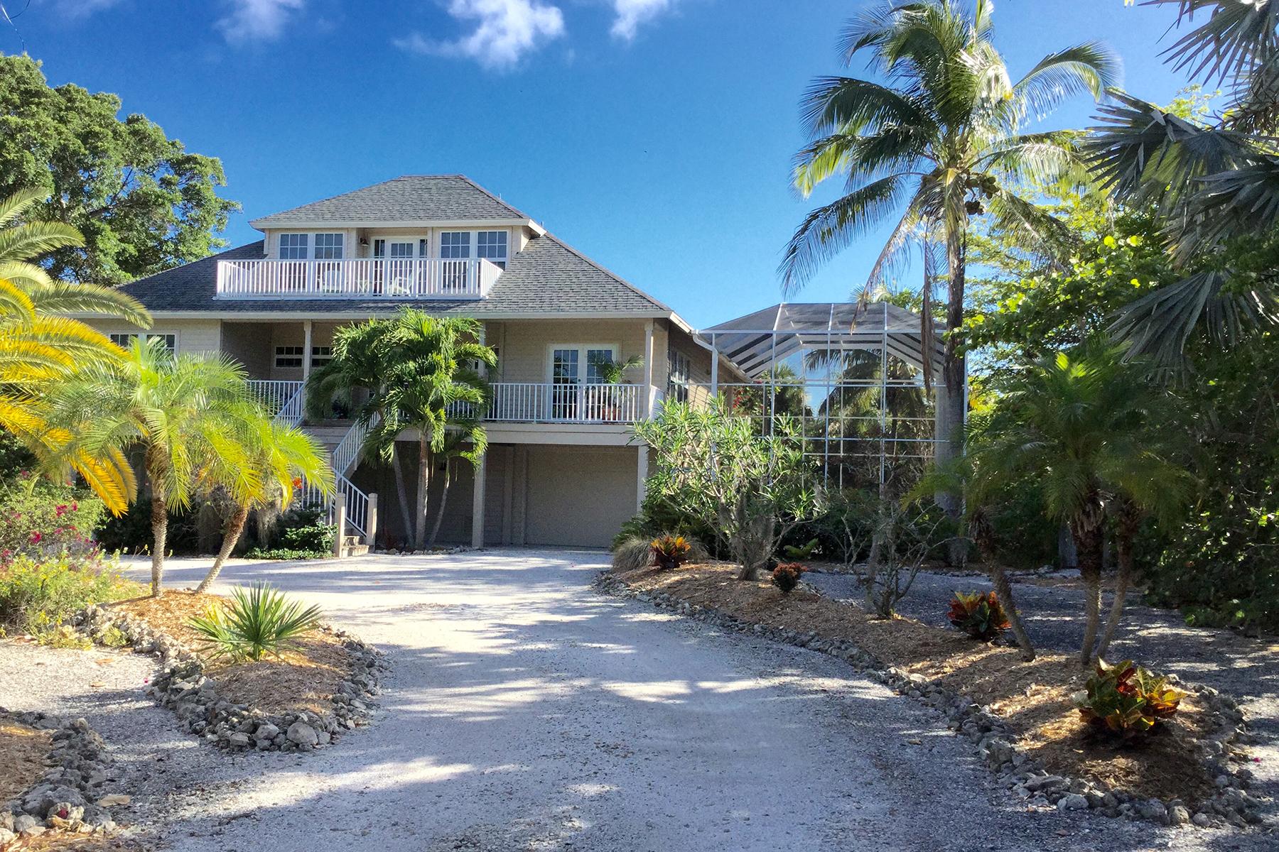 独户住宅 为 销售 在 SANIBEL 3386 W Gulf Dr 撒你贝尔, 佛罗里达州, 33957 美国
