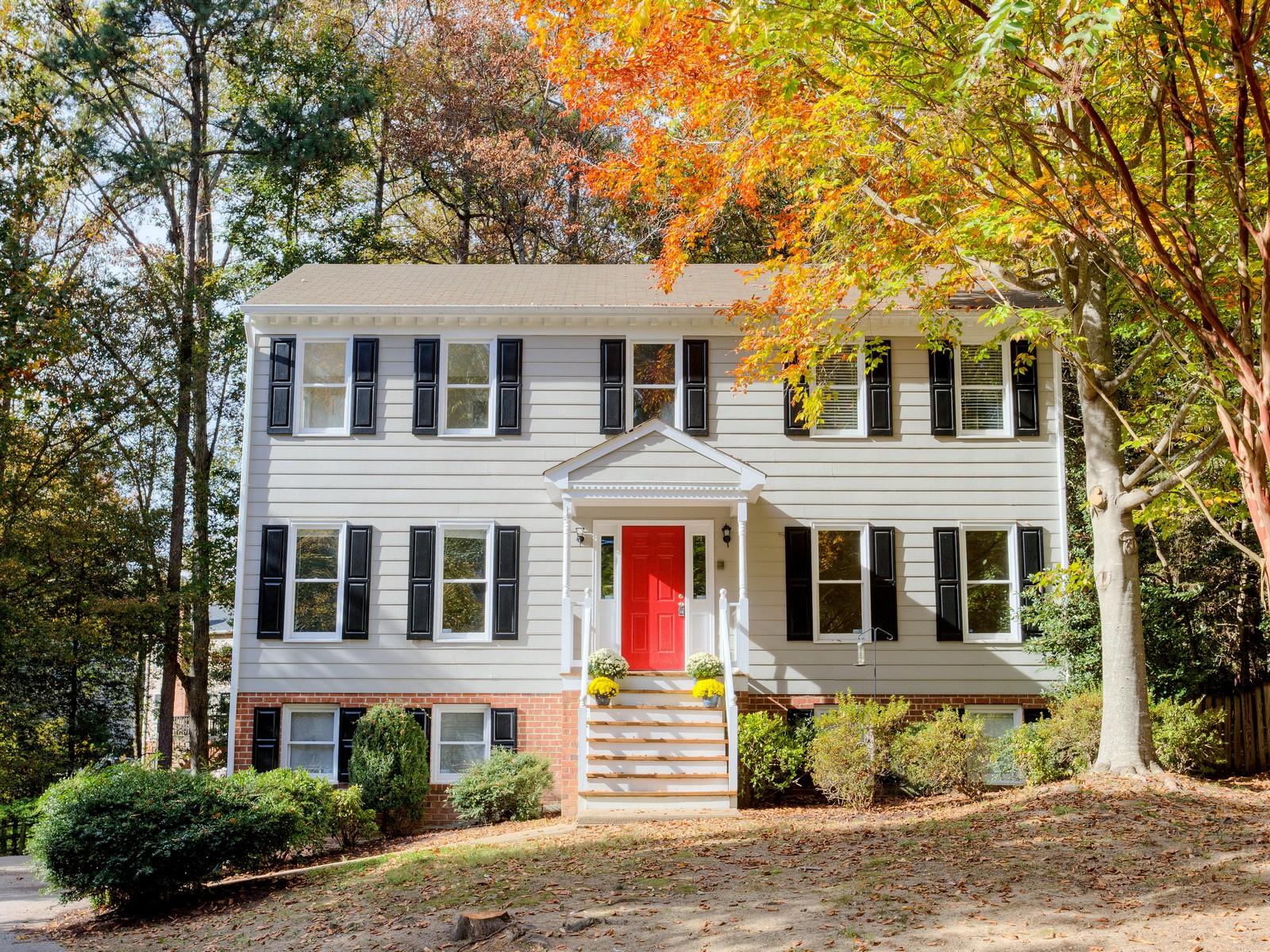 단독 가정 주택 용 매매 에 2604 Krossridge, North Chesterfield 2604 Krossridge Rd Richmond, 버지니아, 23236 미국