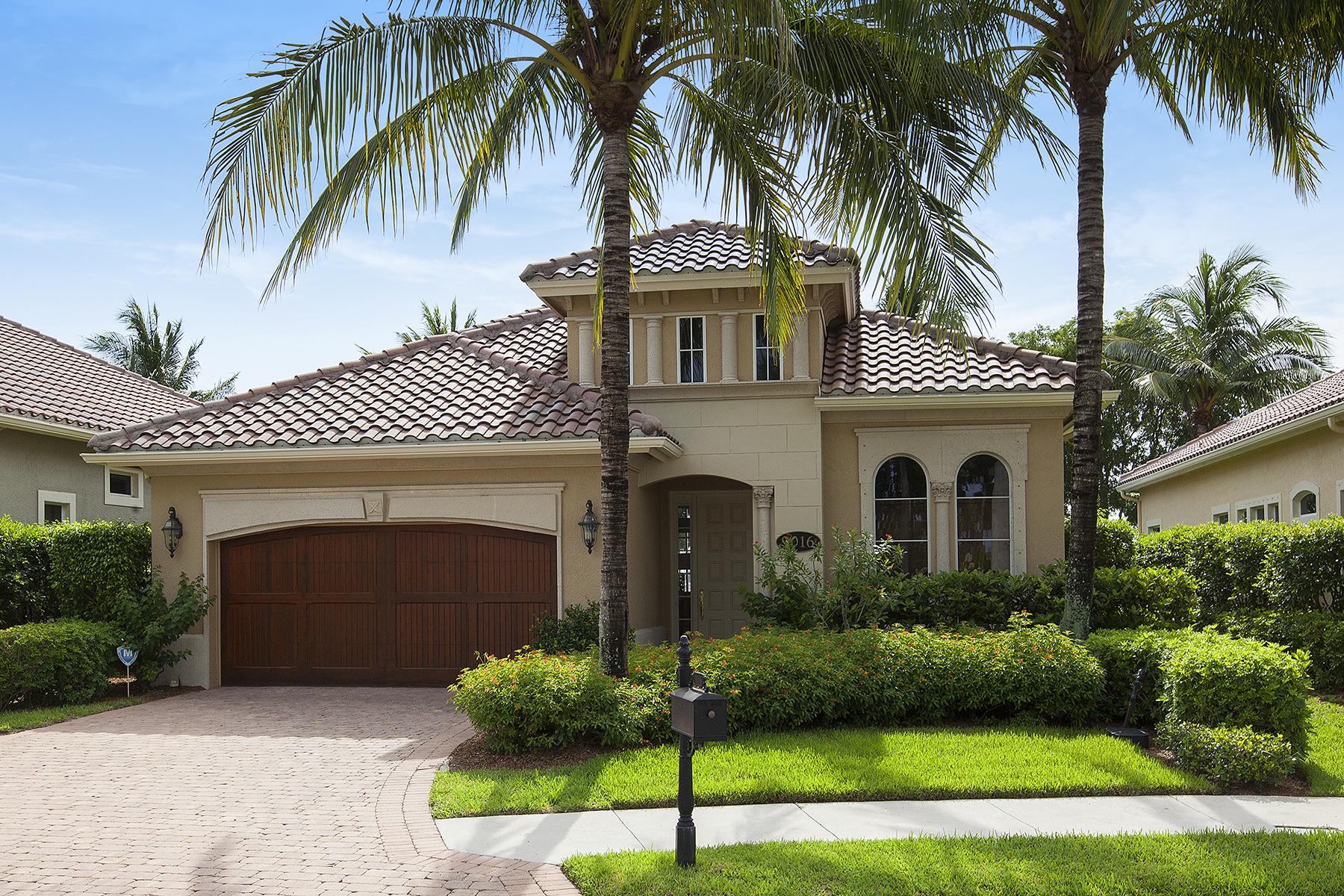 獨棟家庭住宅 為 出售 在 FIDDLER'S CREEK - CRANBERRY CROSSING 9016 Cherry Oaks Trl Naples, 佛羅里達州, 34114 美國