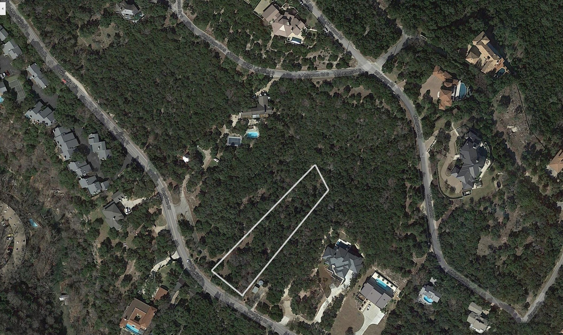 Land for Sale at Build Your Dream Home in Westlake 1862 Westlake Dr Lot 10 Austin, Texas 78746 United States