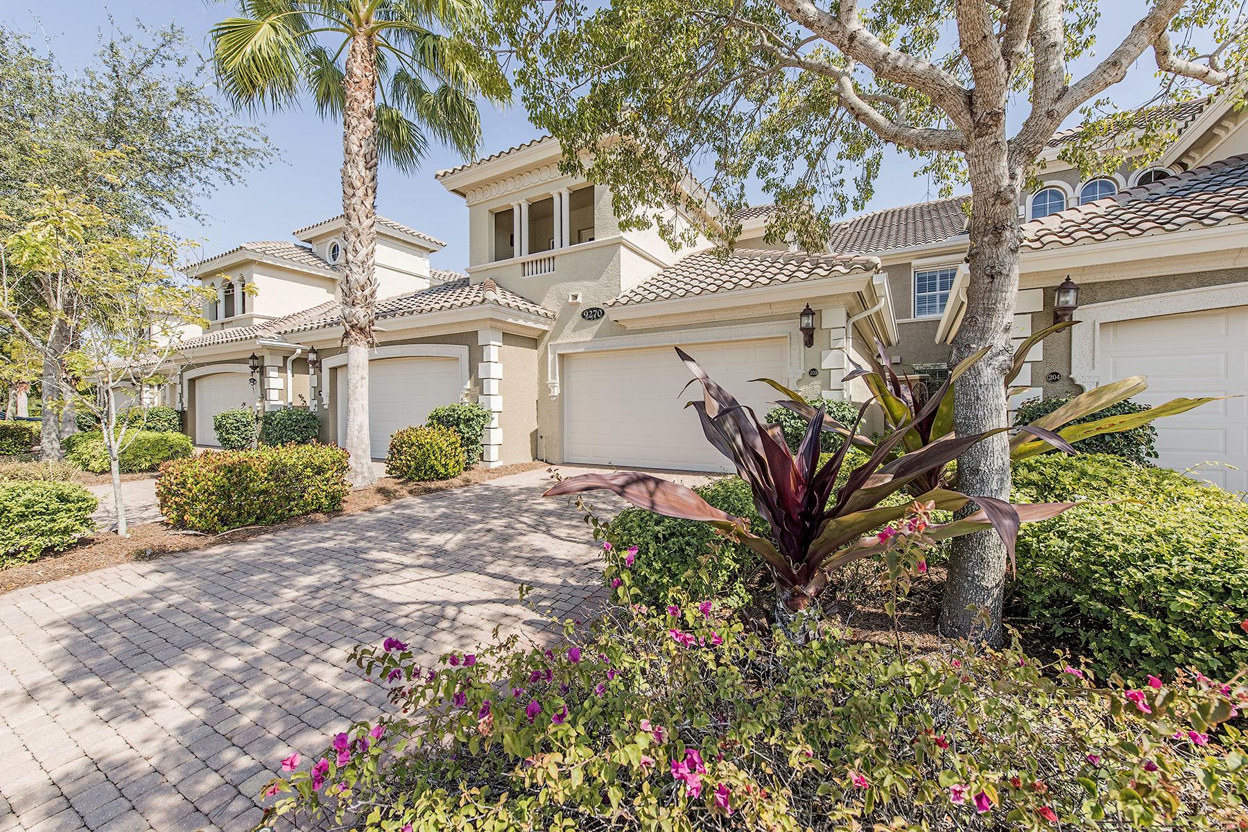 Condominio por un Venta en FIDDLER'S CREEK - VARENNA 9270 Campanile Cir 203 Naples, Florida 34114 Estados Unidos