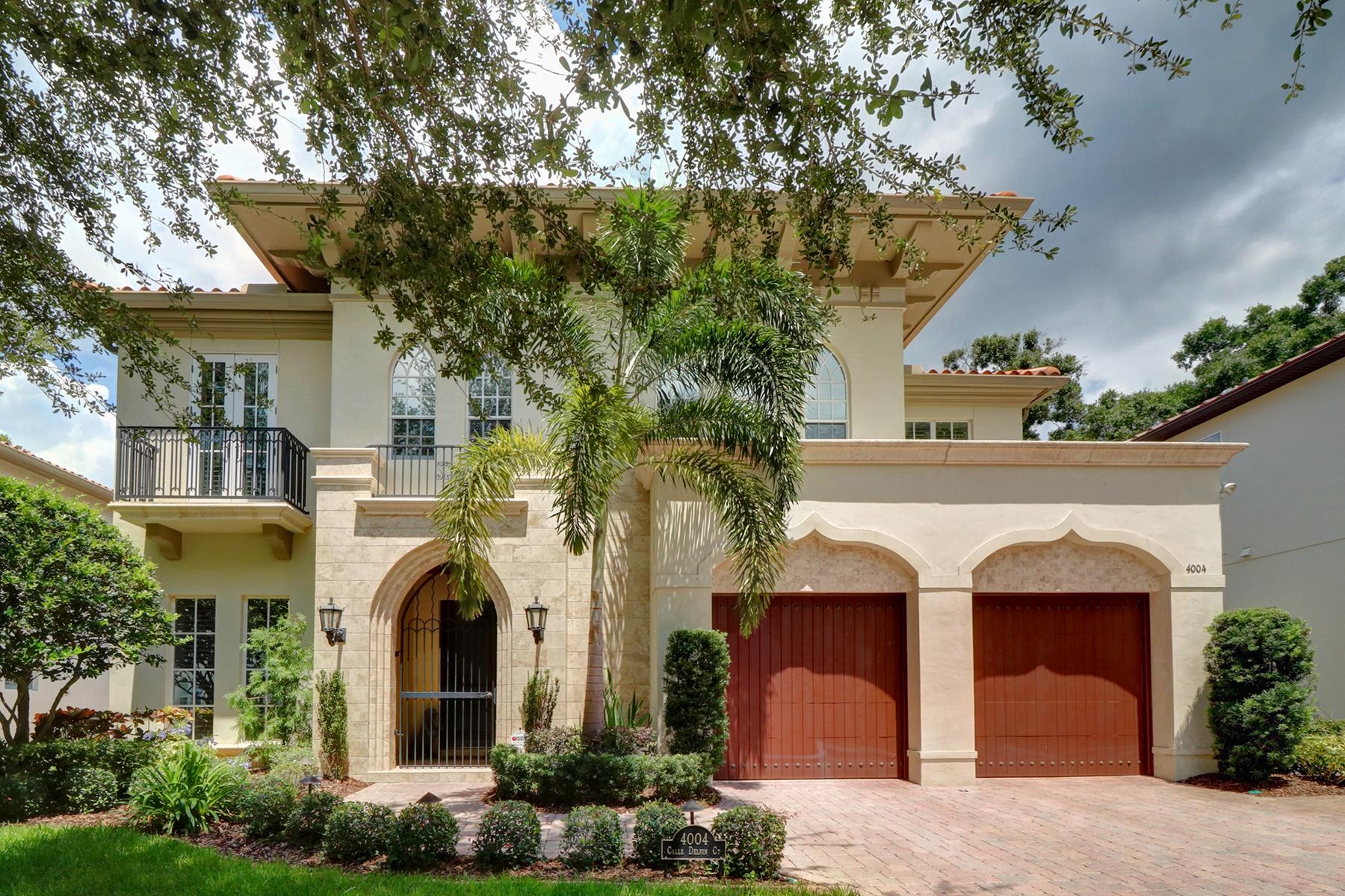 独户住宅 为 销售 在 SOUTH TAMPA 4004 Calle Delfin Ct 坦帕市, 佛罗里达州, 33611 美国