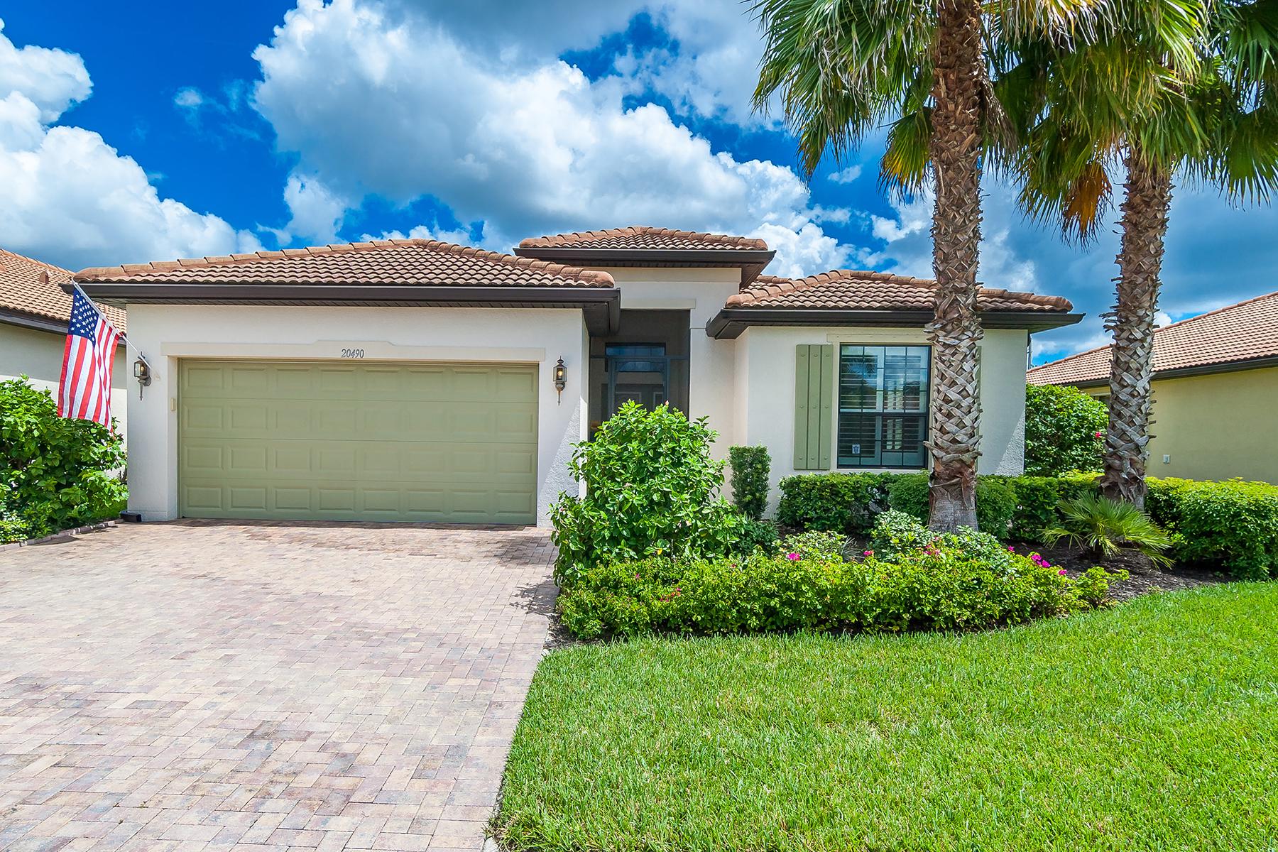 Maison unifamiliale pour l Vente à VENETIAN FALLS 20490 Capello Dr Venice, Florida, 34292 États-Unis