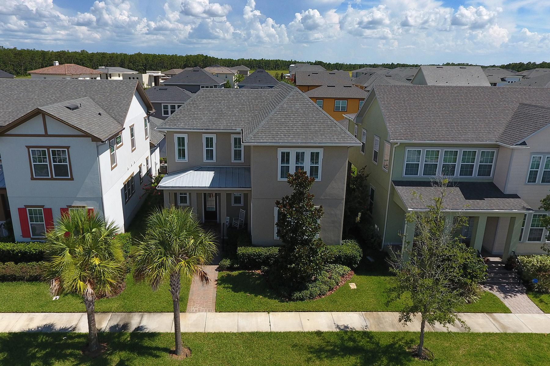 独户住宅 为 销售 在 LAKE NONA 8382 Laureate Blvd 奥兰多, 佛罗里达州, 32827 美国