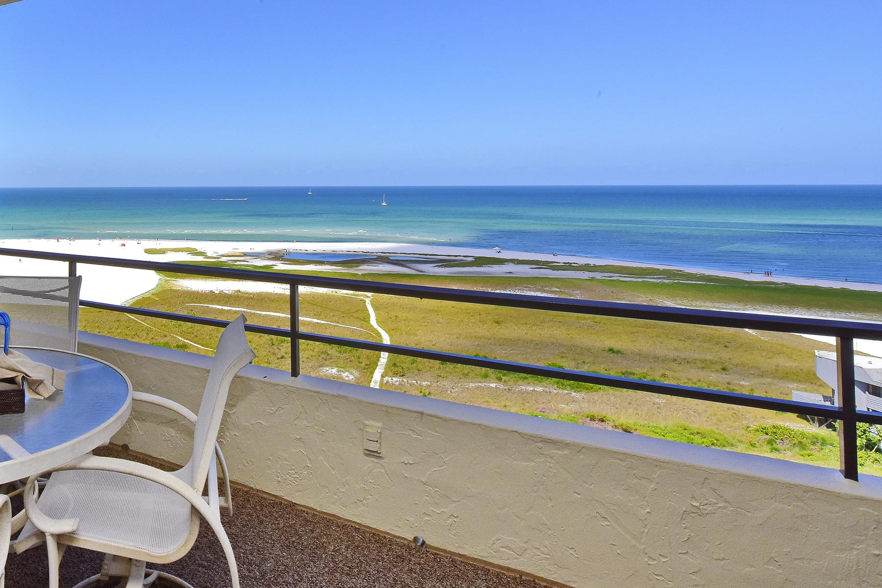 共管式独立产权公寓 为 销售 在 SIESTA KEY 5300 Ocean Blvd PH3 萨拉索塔, 佛罗里达州 34242 美国